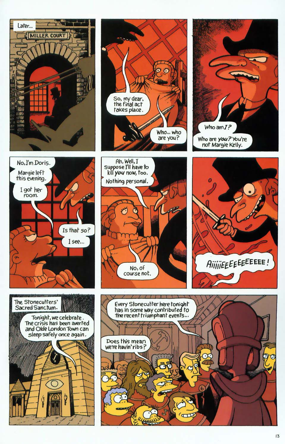 Read online Treehouse of Horror comic -  Issue #9 - 45
