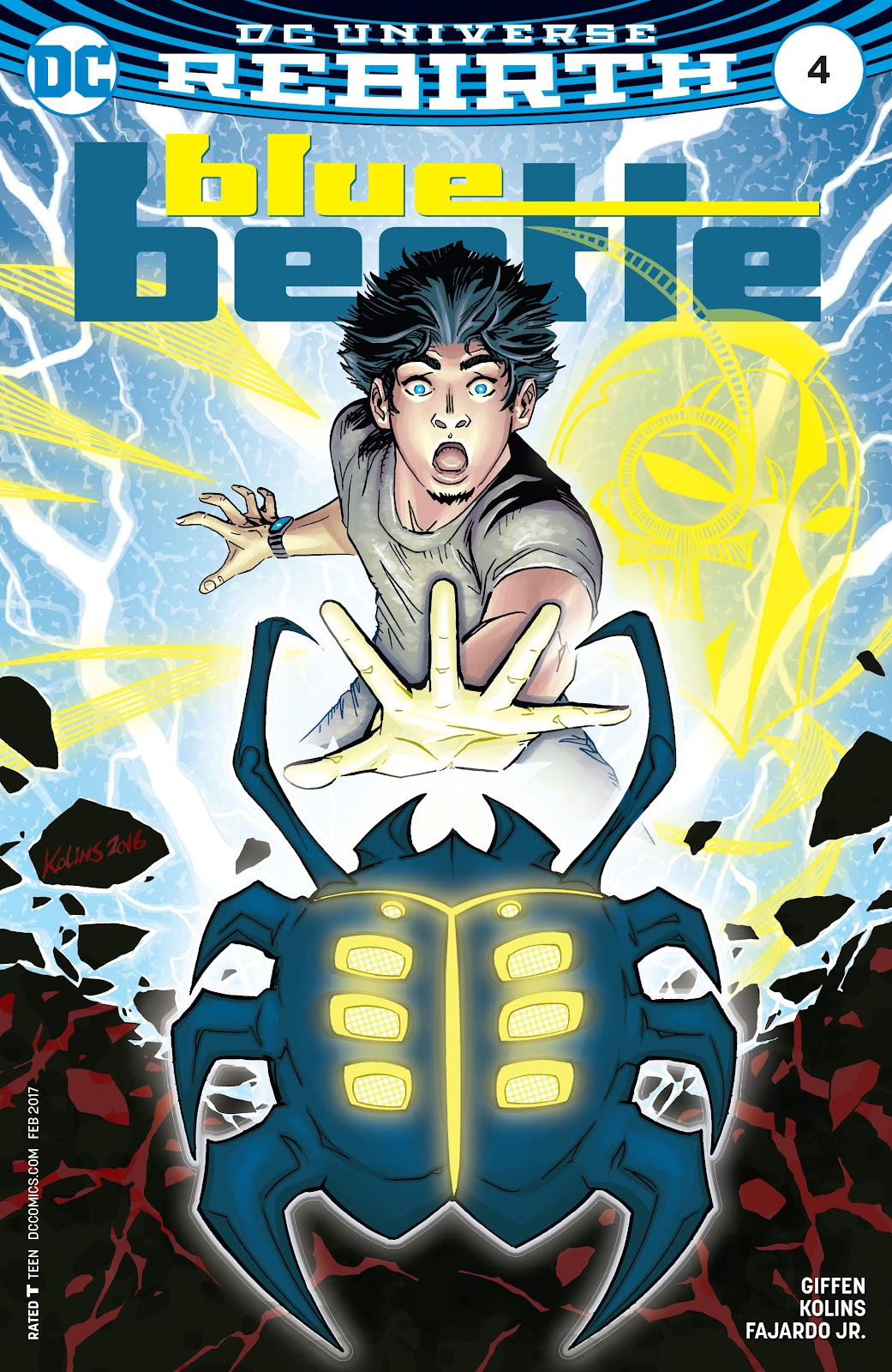 Blue Beetle (2016) 4 Page 1