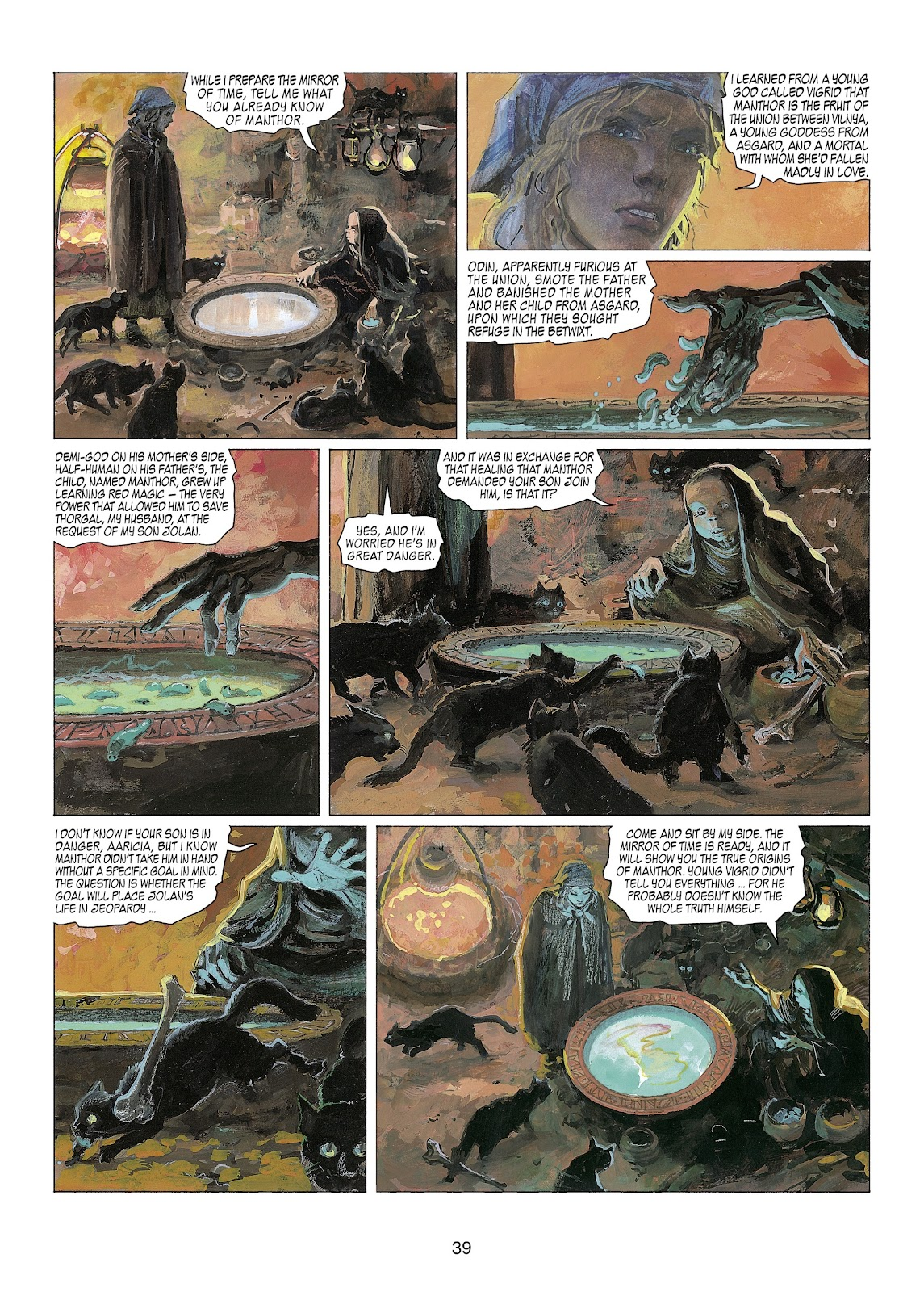 Read online Thorgal comic -  Issue #22 - 41