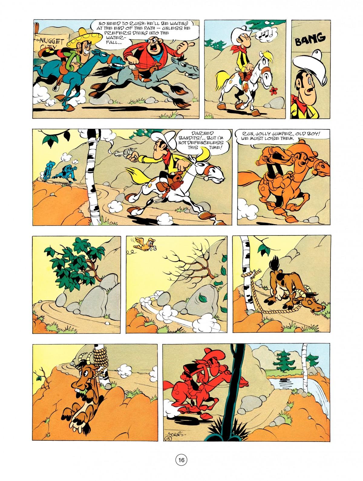 Read online A Lucky Luke Adventure comic -  Issue #48 - 16
