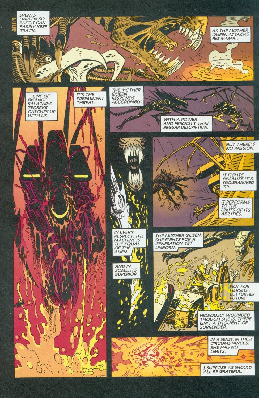 Read online Aliens/Predator: The Deadliest of the Species comic -  Issue #9 - 9