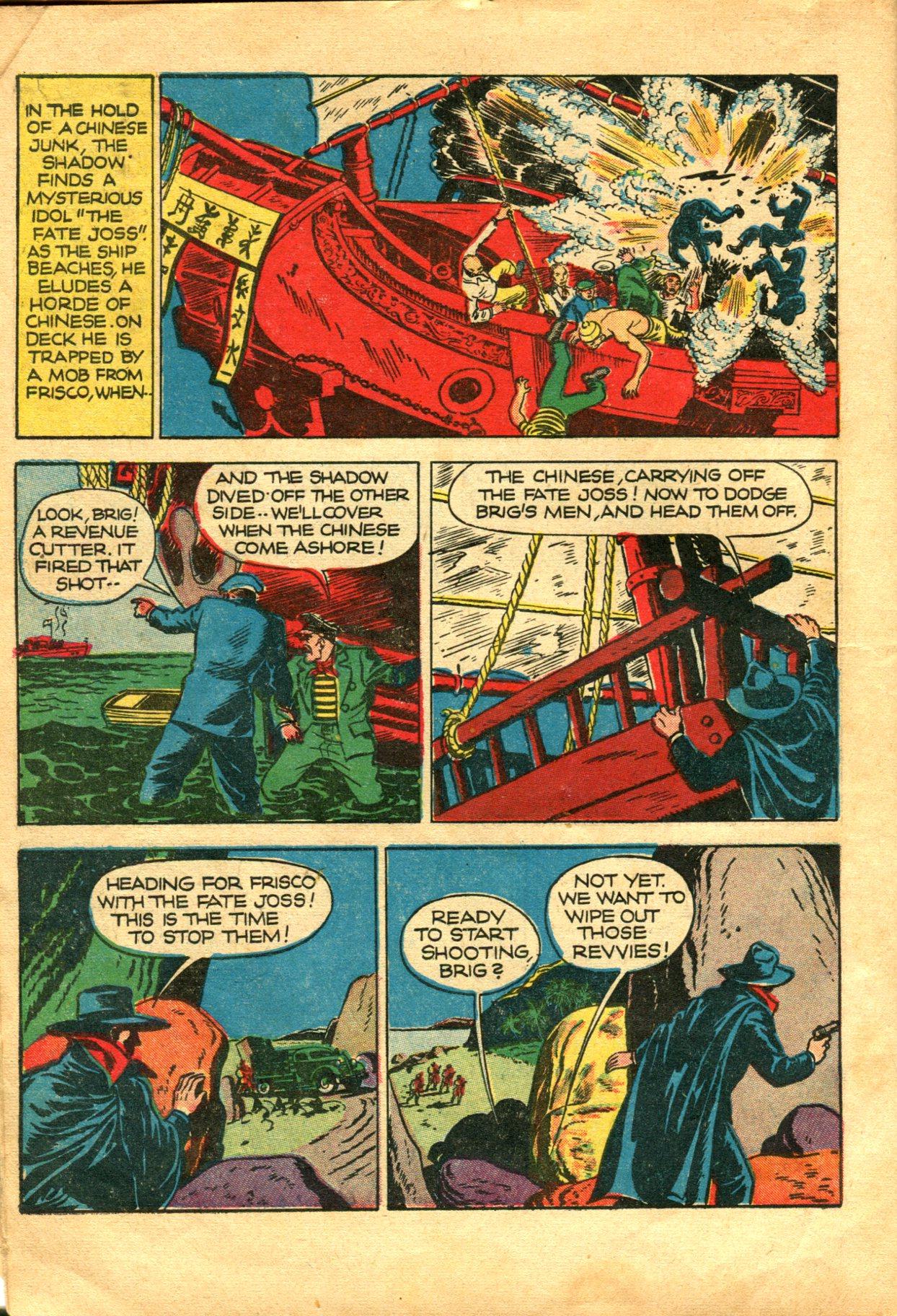 Read online Shadow Comics comic -  Issue #10 - 8