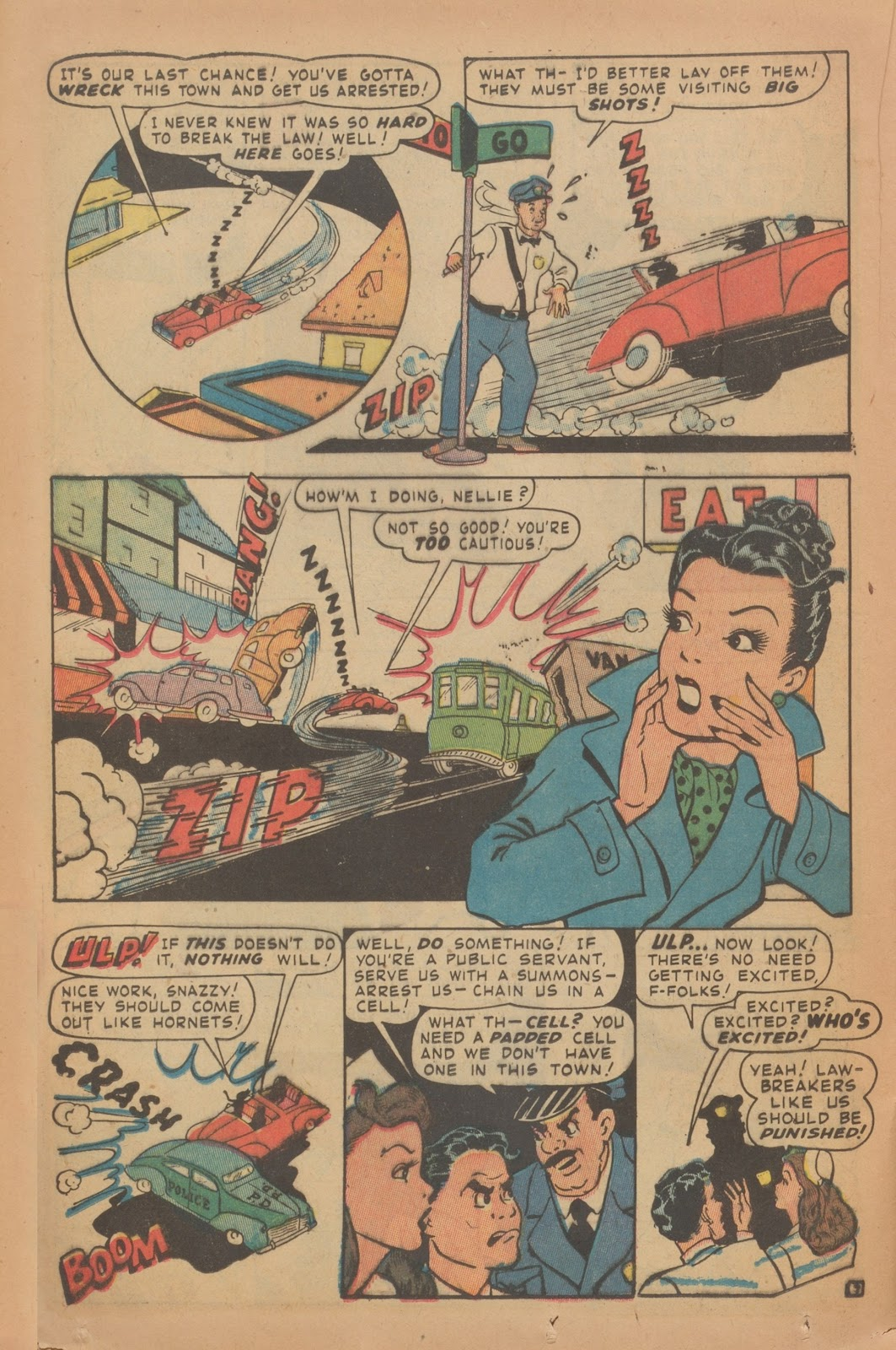 Read online Nellie The Nurse (1945) comic -  Issue #9 - 32
