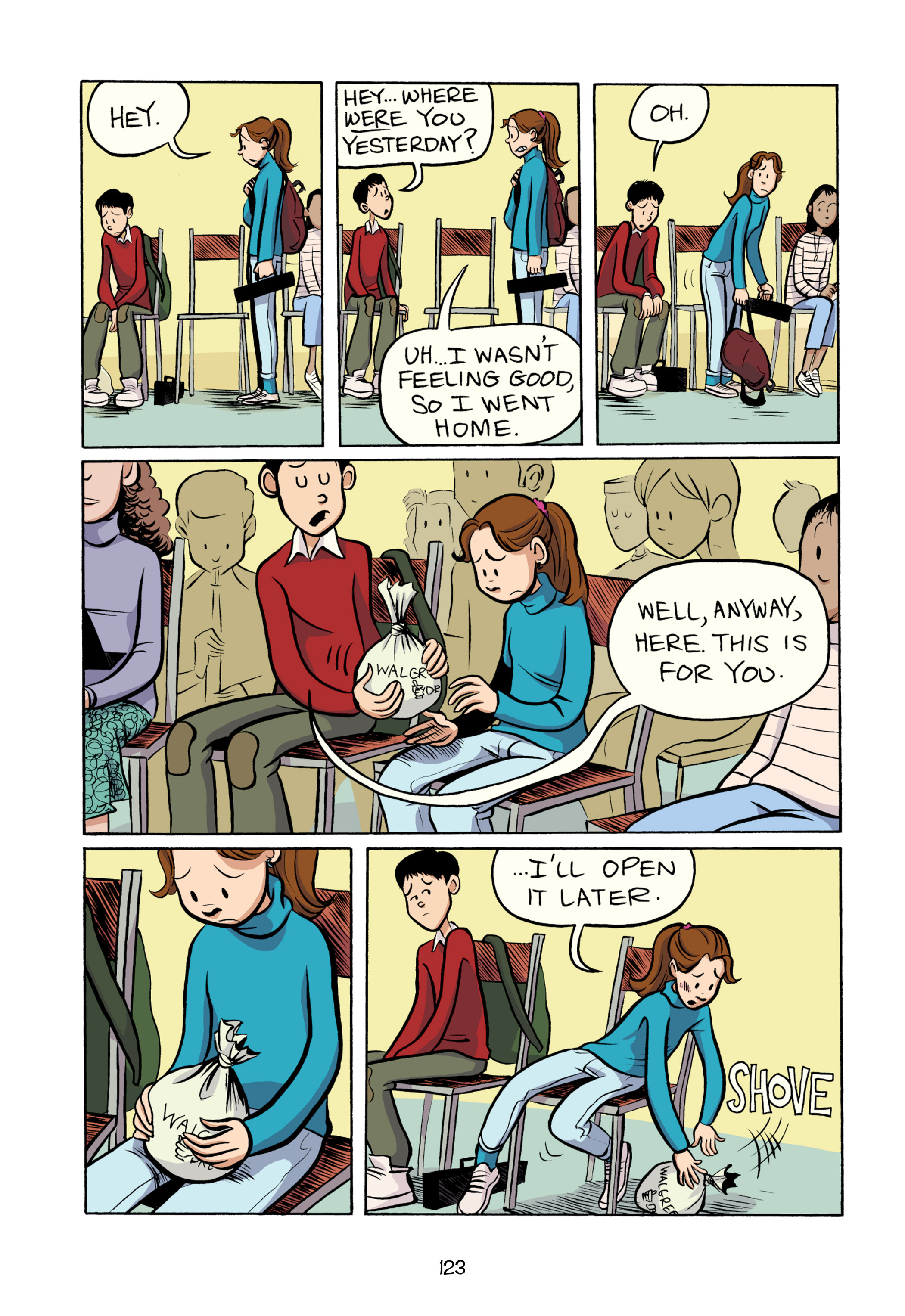 Read online Smile comic -  Issue # TPB - 129