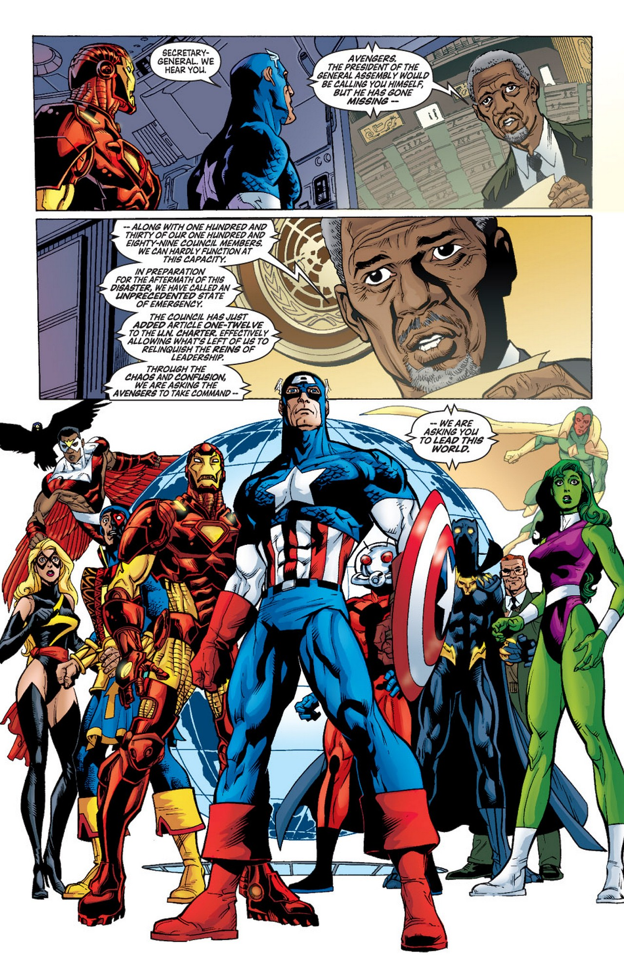 Read online Avengers (1998) comic -  Issue #57 - 21