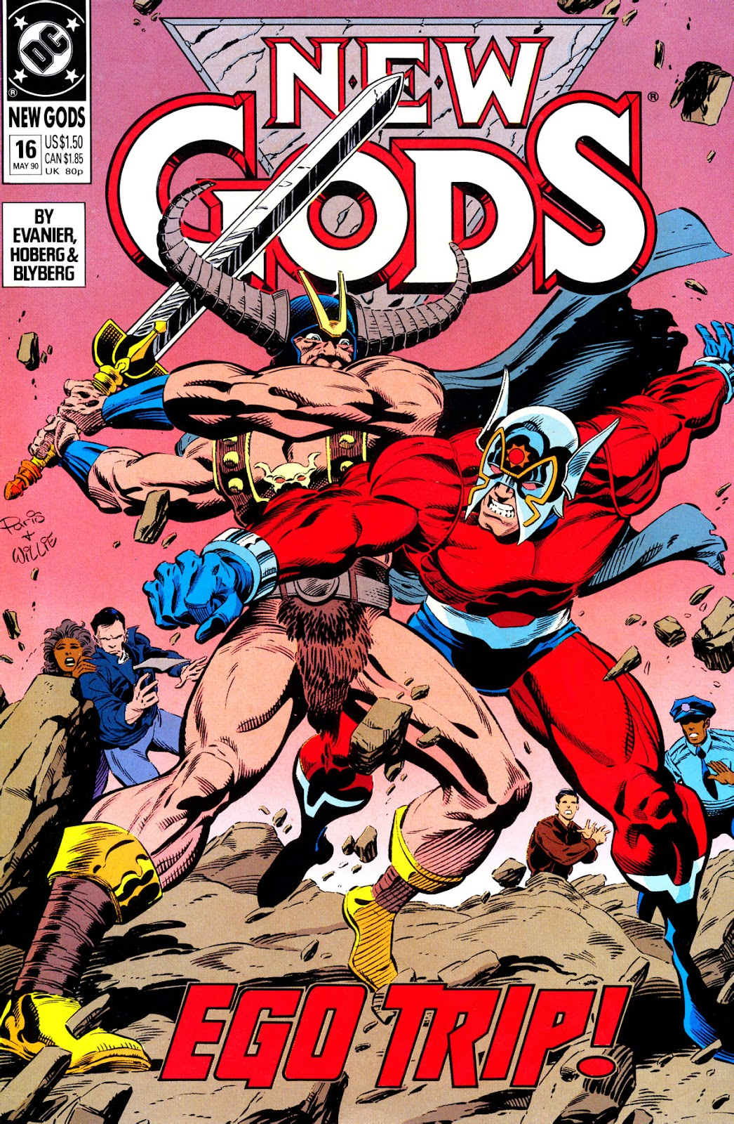 The New Gods (1989) 16 Page 1