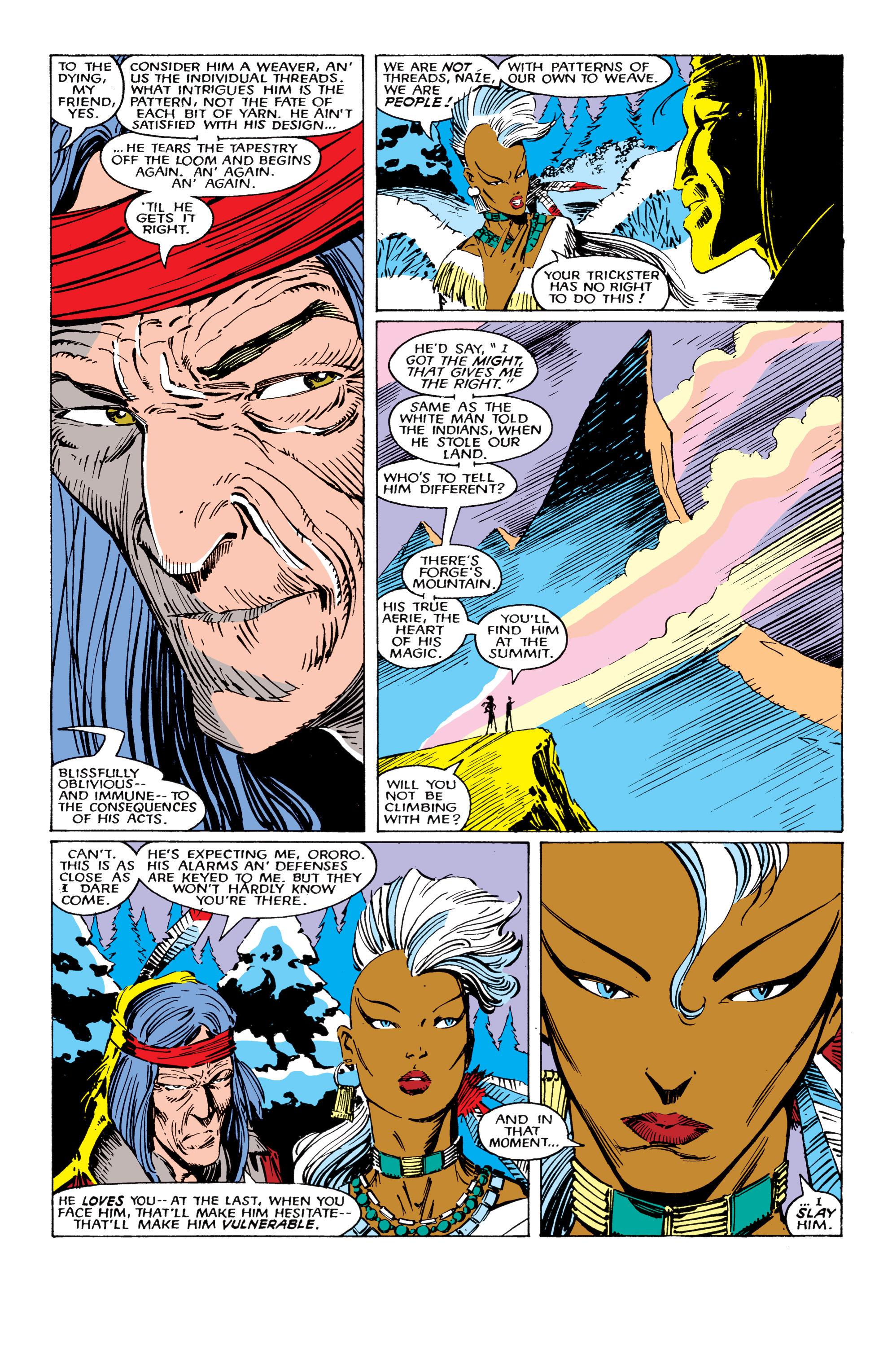 Read online Uncanny X-Men (1963) comic -  Issue #224 - 4