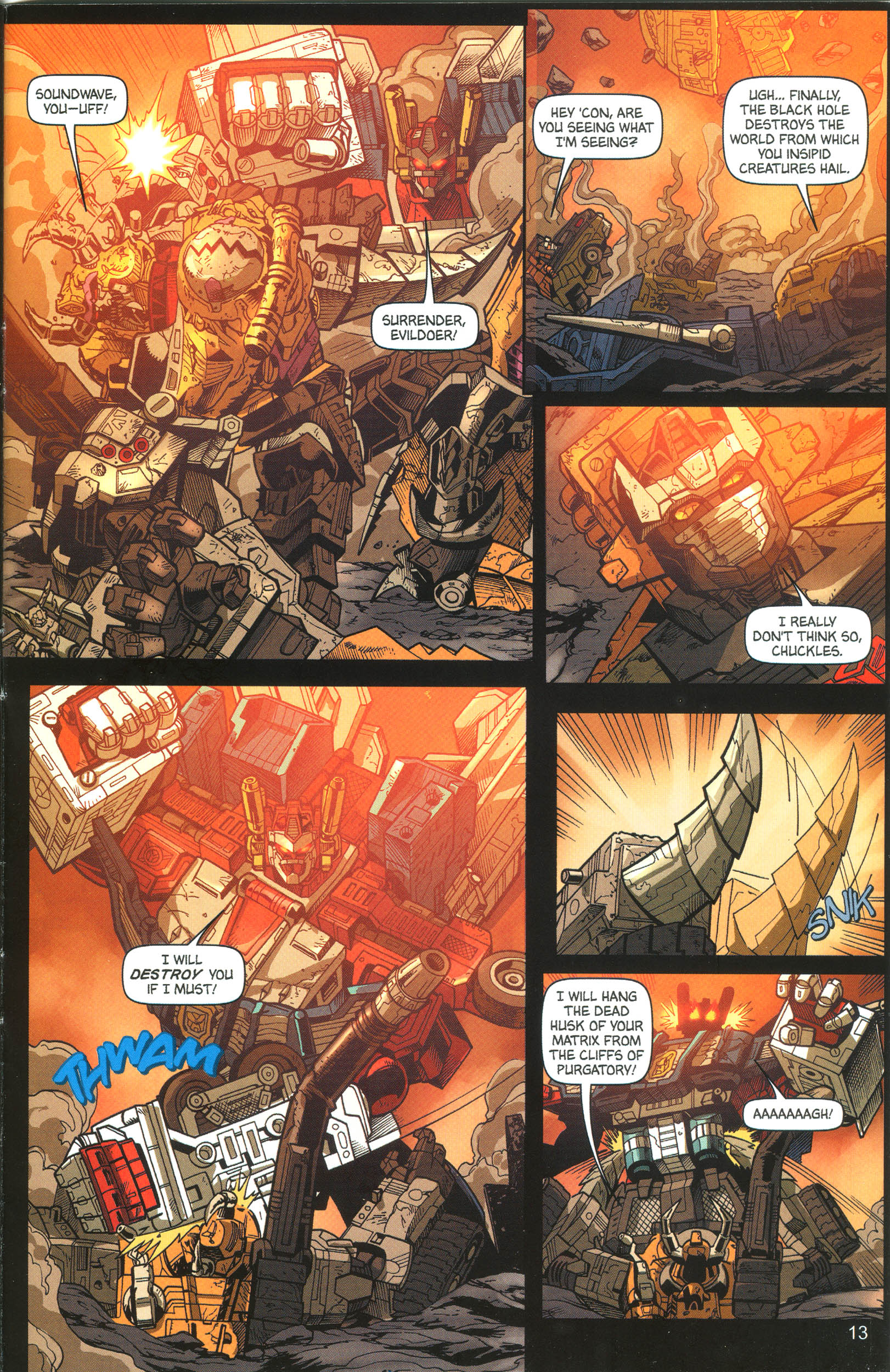 Read online Transformers: Collectors' Club comic -  Issue #12 - 13
