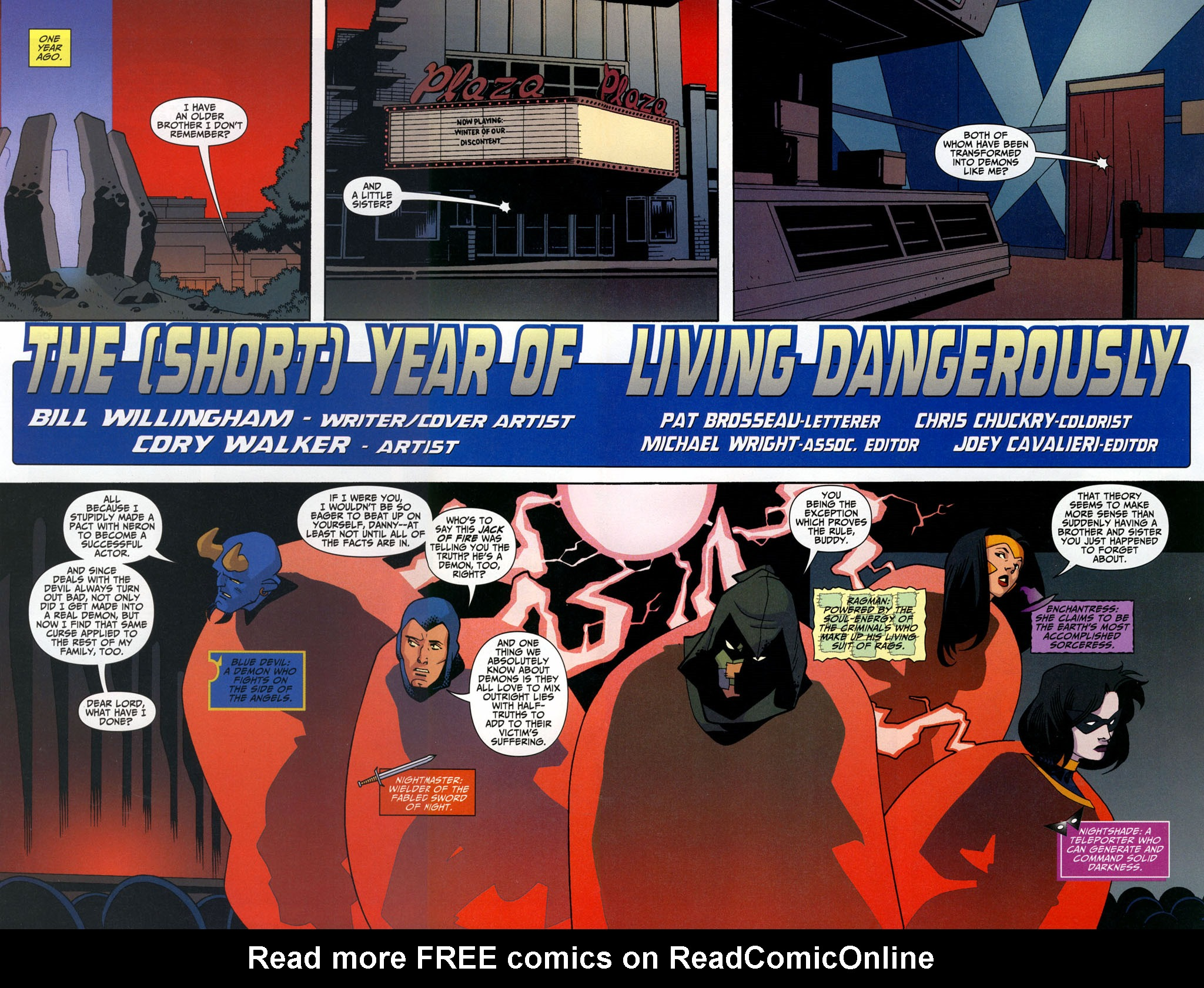 Read online Shadowpact comic -  Issue #3 - 3