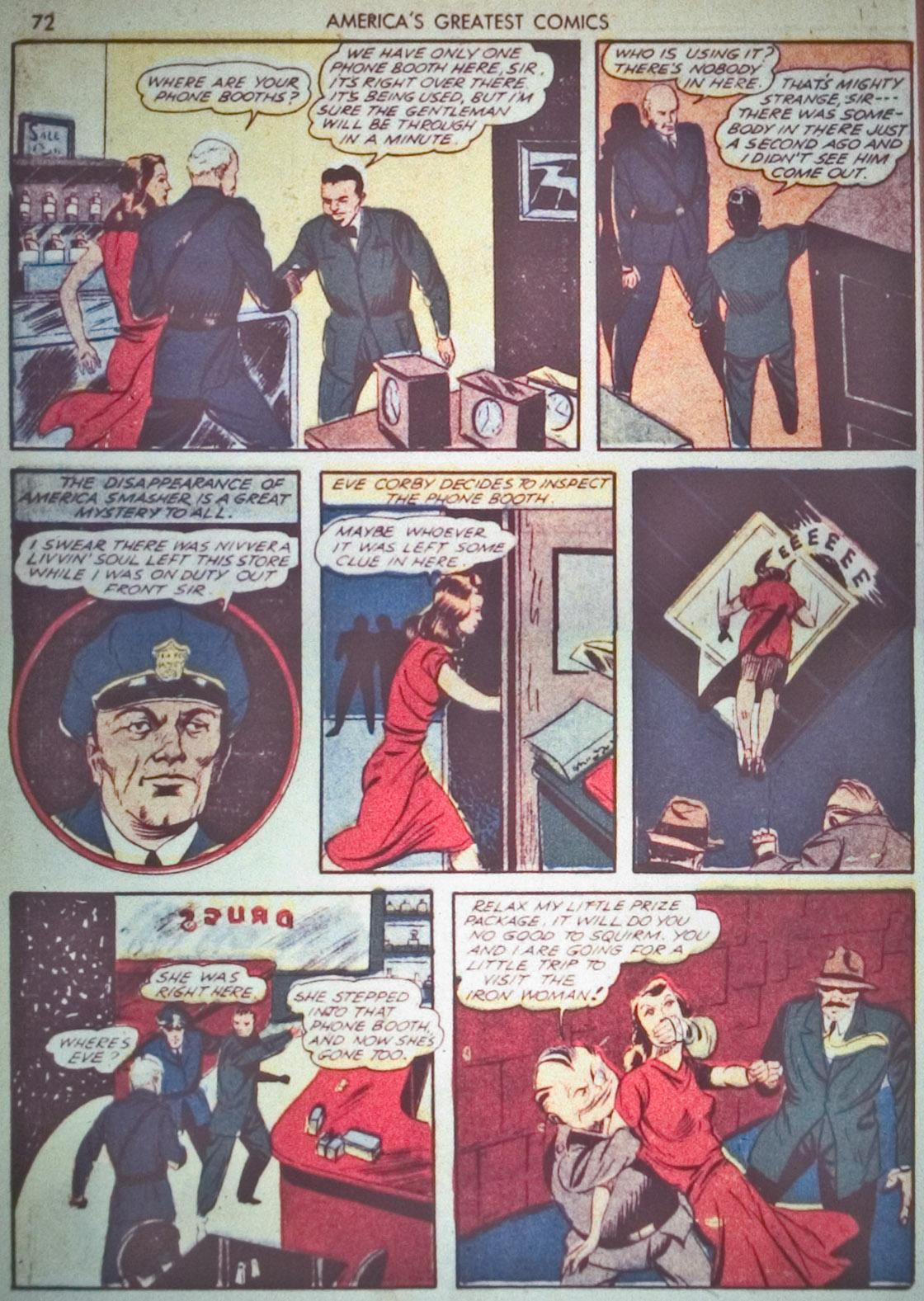 Read online America's Greatest Comics comic -  Issue #1 - 75