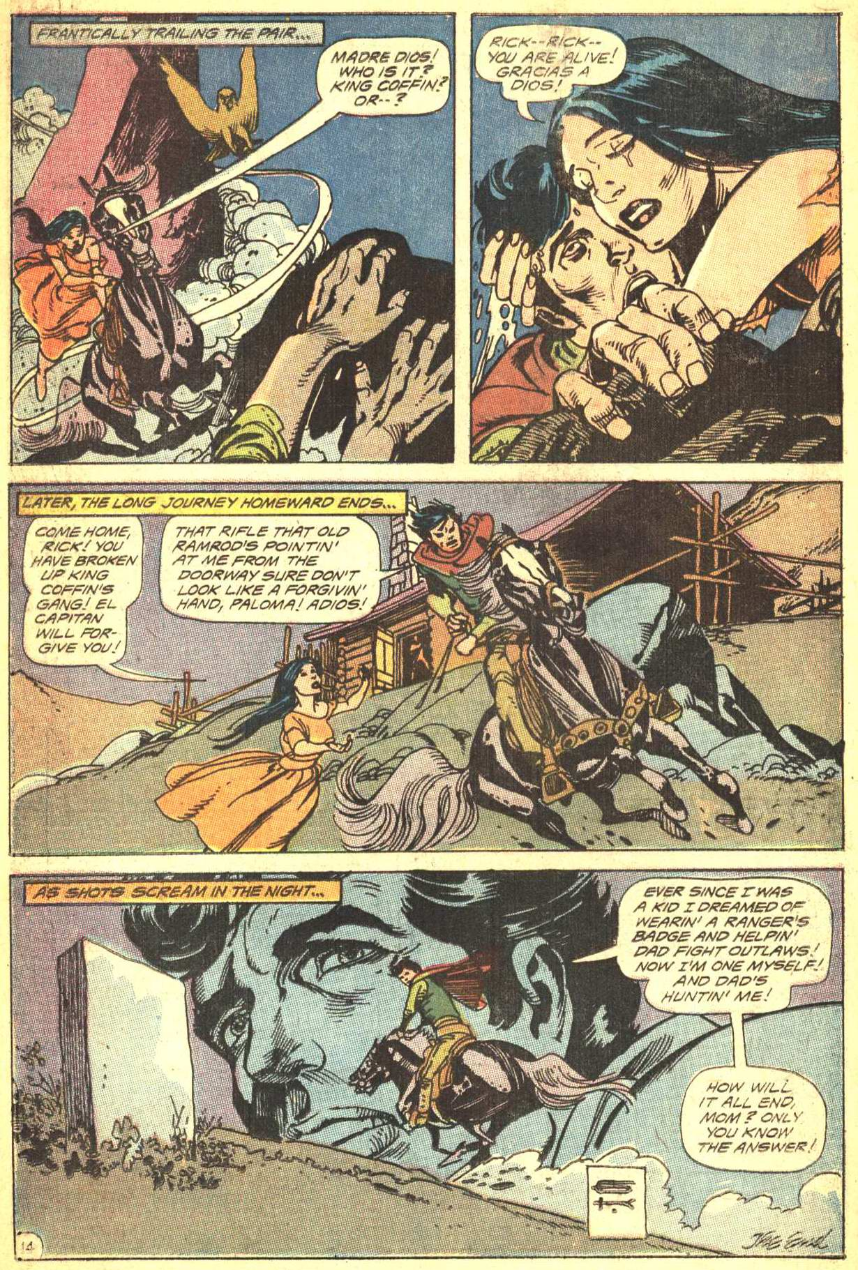 Read online All-Star Western (1970) comic -  Issue #4 - 16