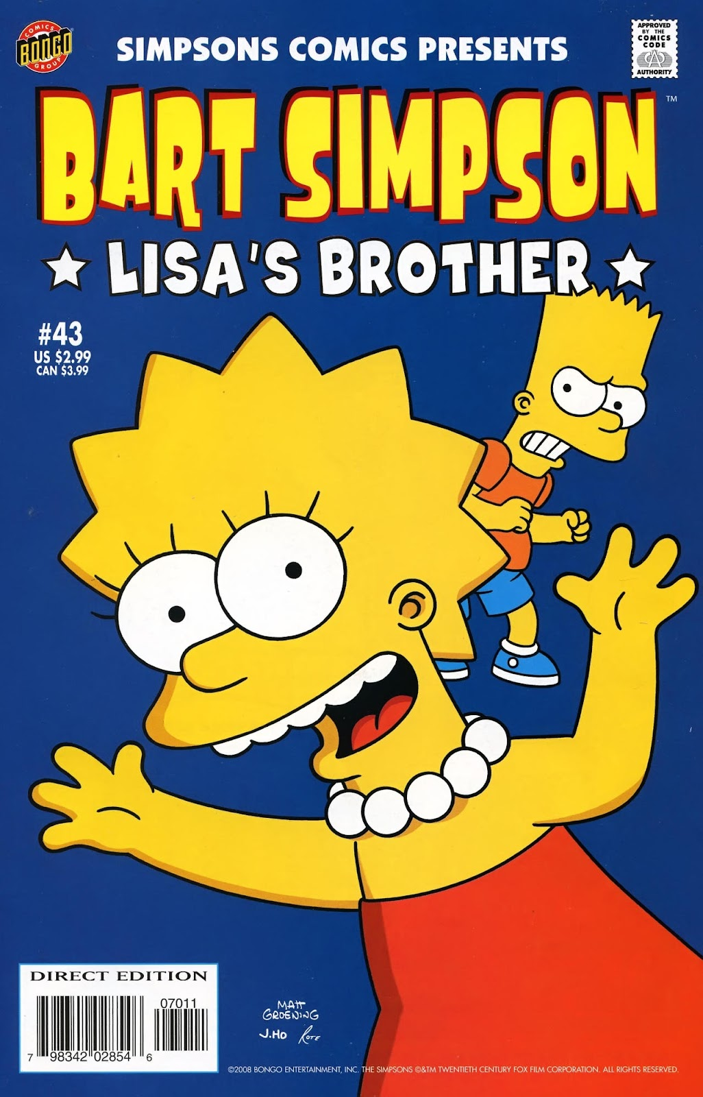 Simpsons Comics Presents Bart Simpson 43 Page 1