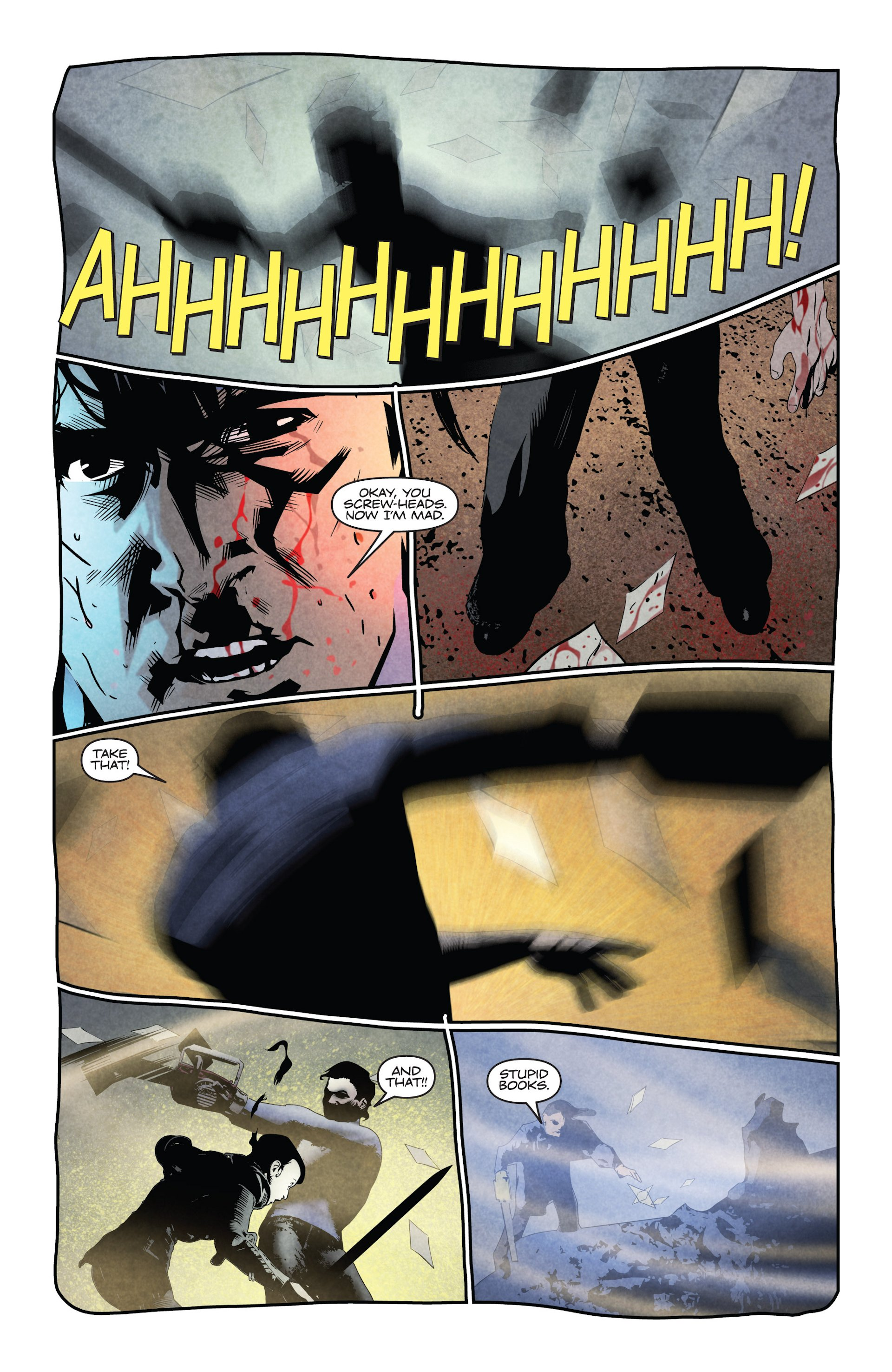 Read online Ash and the Army of Darkness comic -  Issue #4 - 18