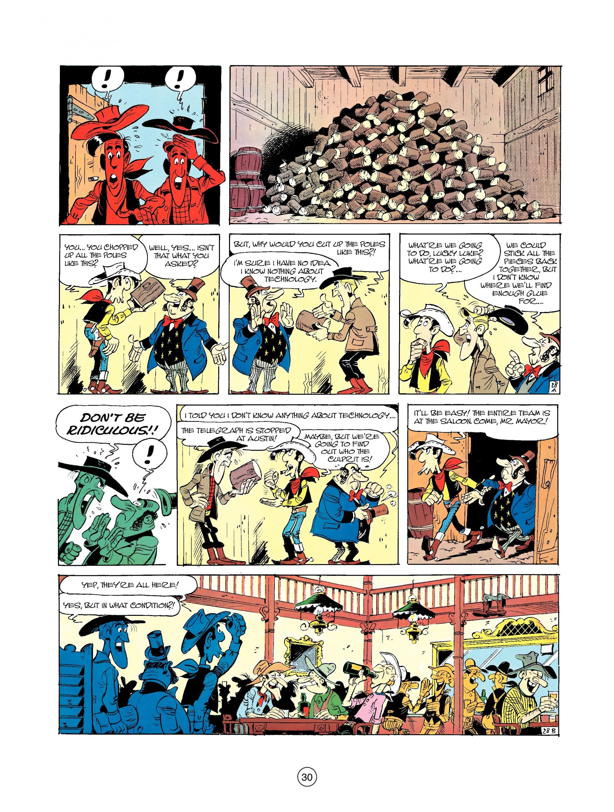 Read online A Lucky Luke Adventure comic -  Issue #35 - 30