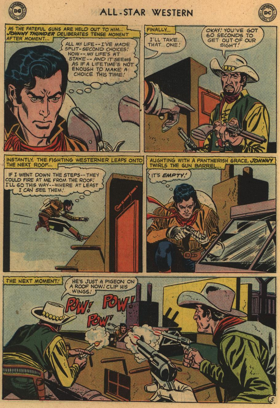 Read online All-Star Western (1951) comic -  Issue #100 - 30