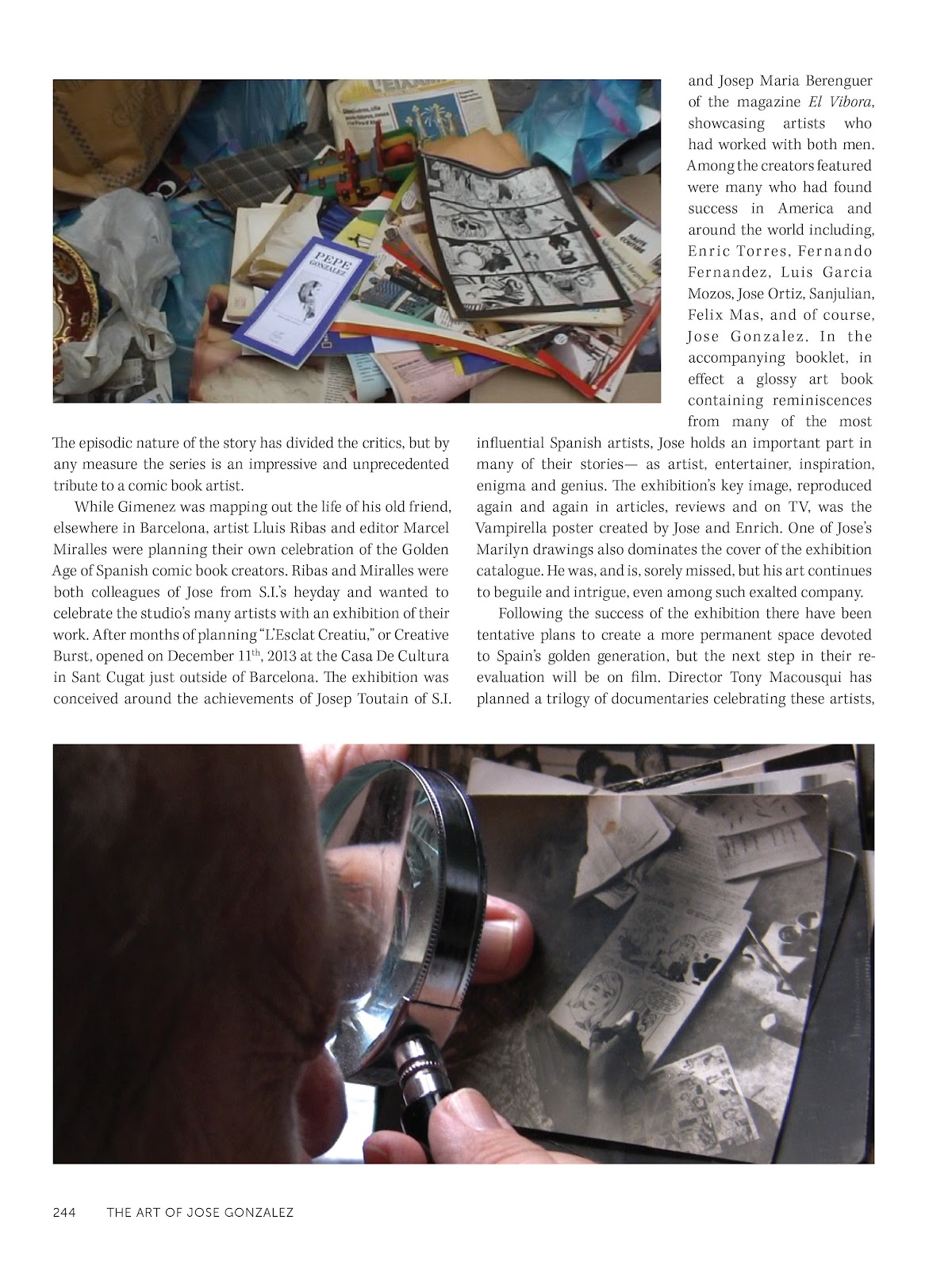 Read online The Art of Jose Gonzalez comic -  Issue # TPB (Part 3) - 47