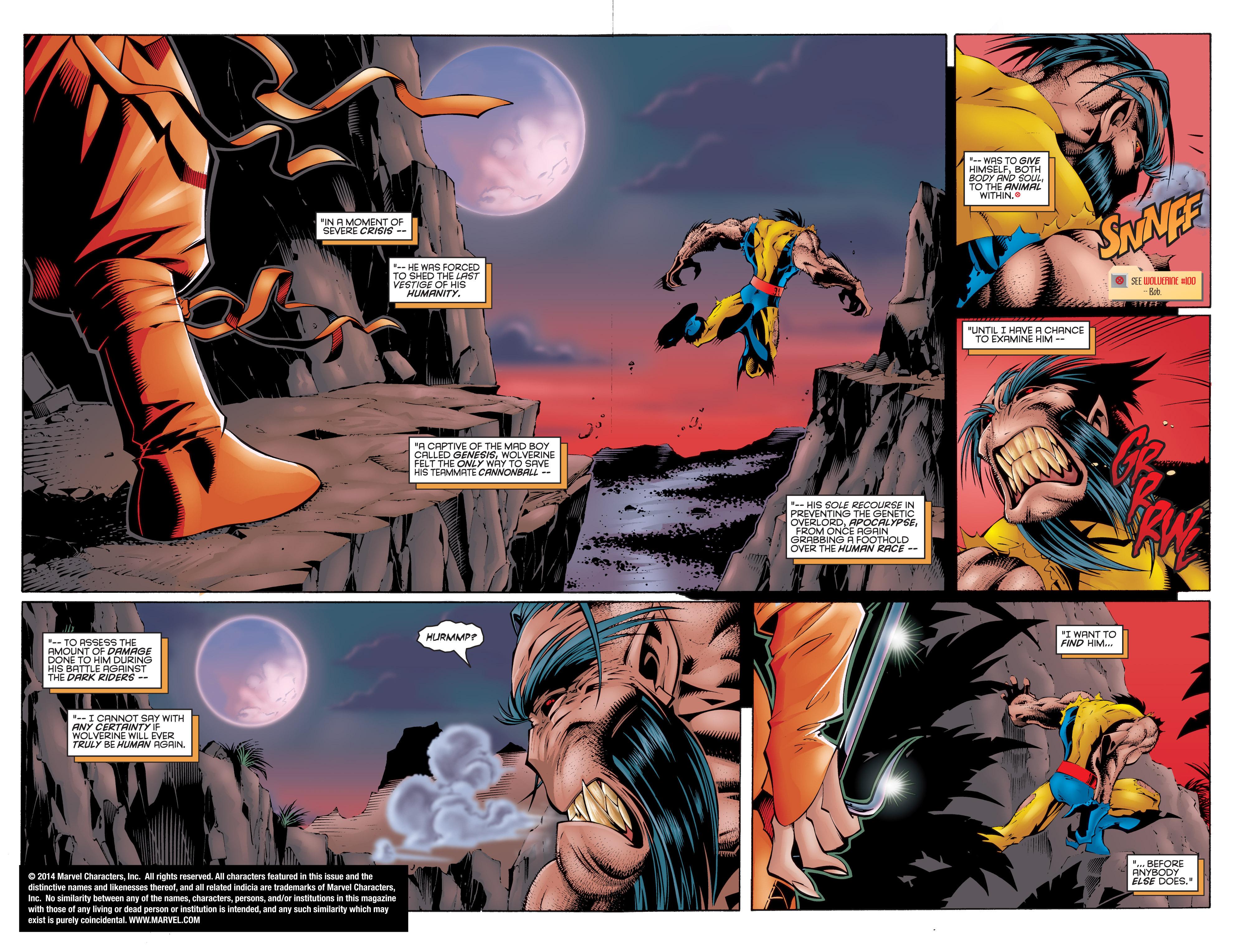 Read online Uncanny X-Men (1963) comic -  Issue #332 - 3