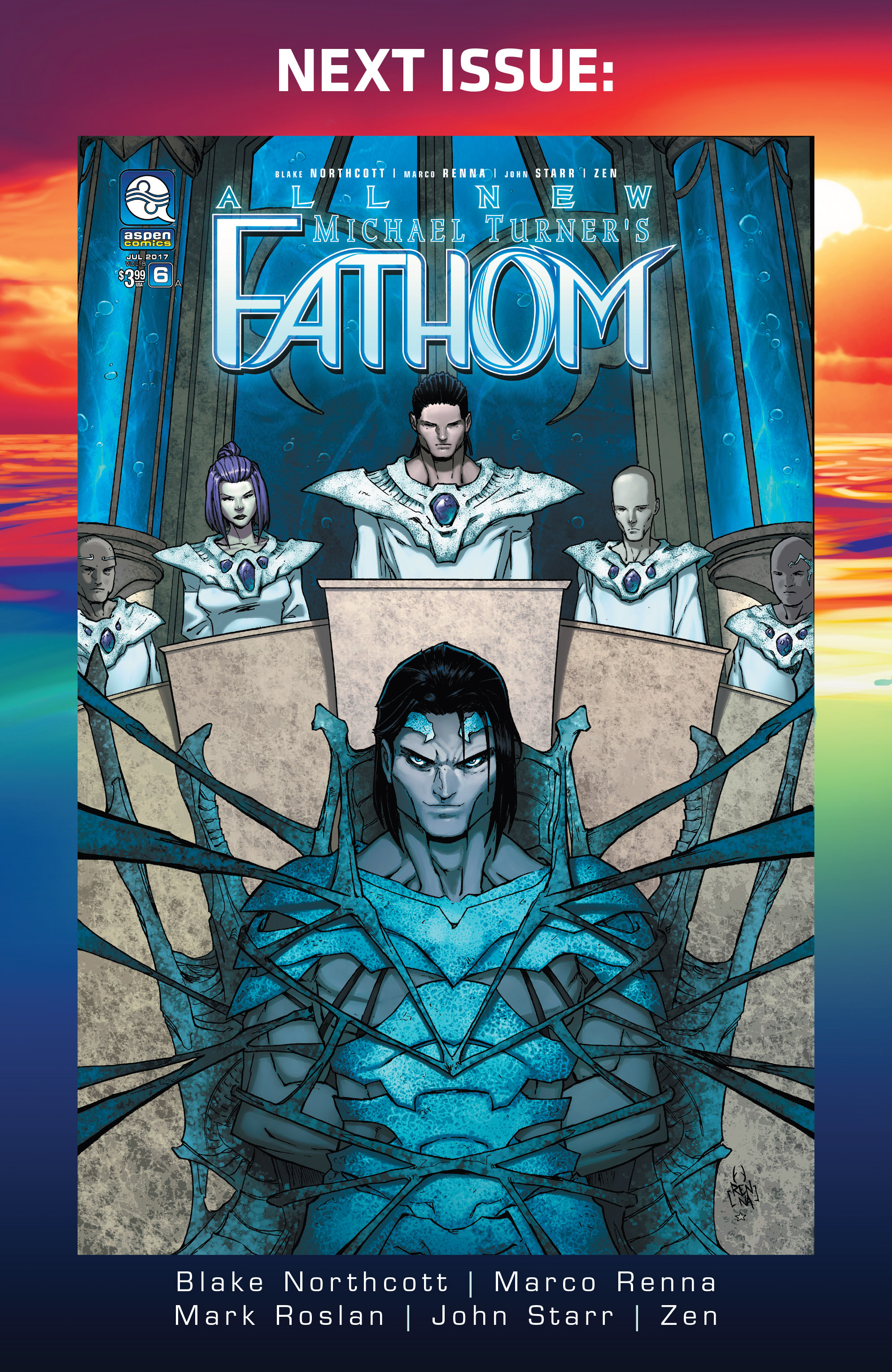 Read online Fathom (2017) comic -  Issue #5 - 24