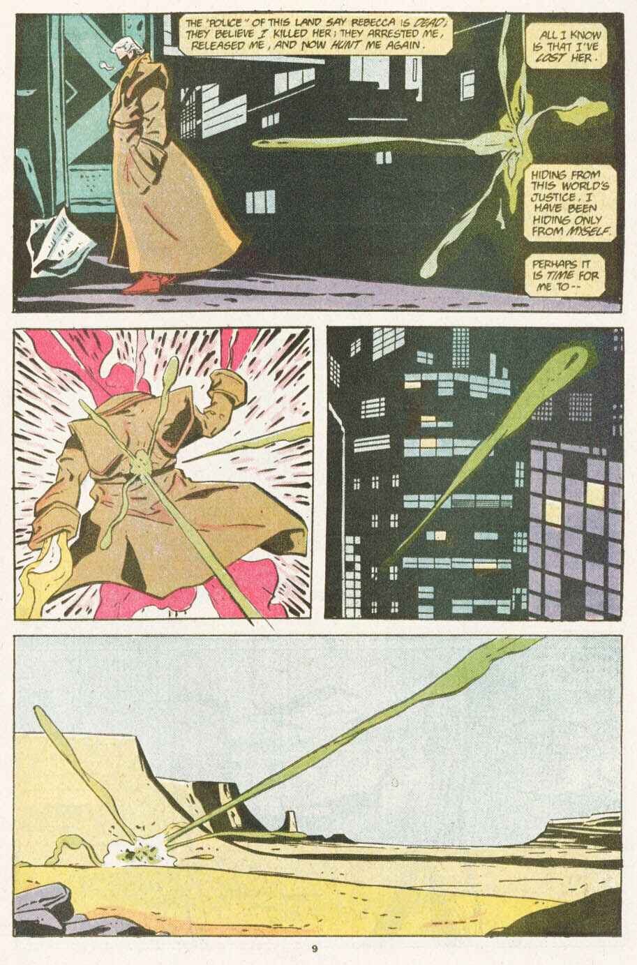 Read online Justice (1986) comic -  Issue #10 - 10