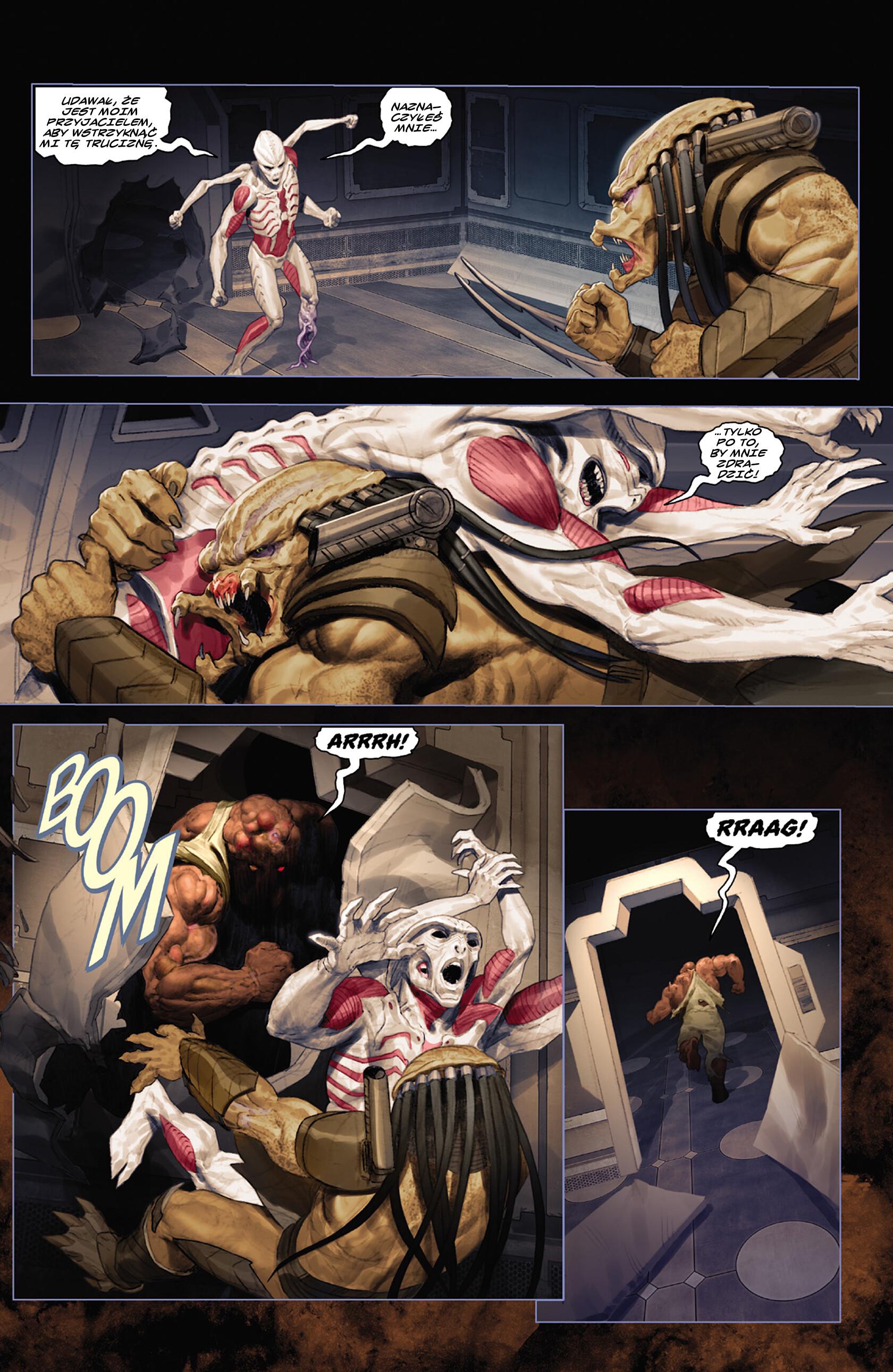 Read online Alien vs. Predator: Fire and Stone comic -  Issue #3 - 22
