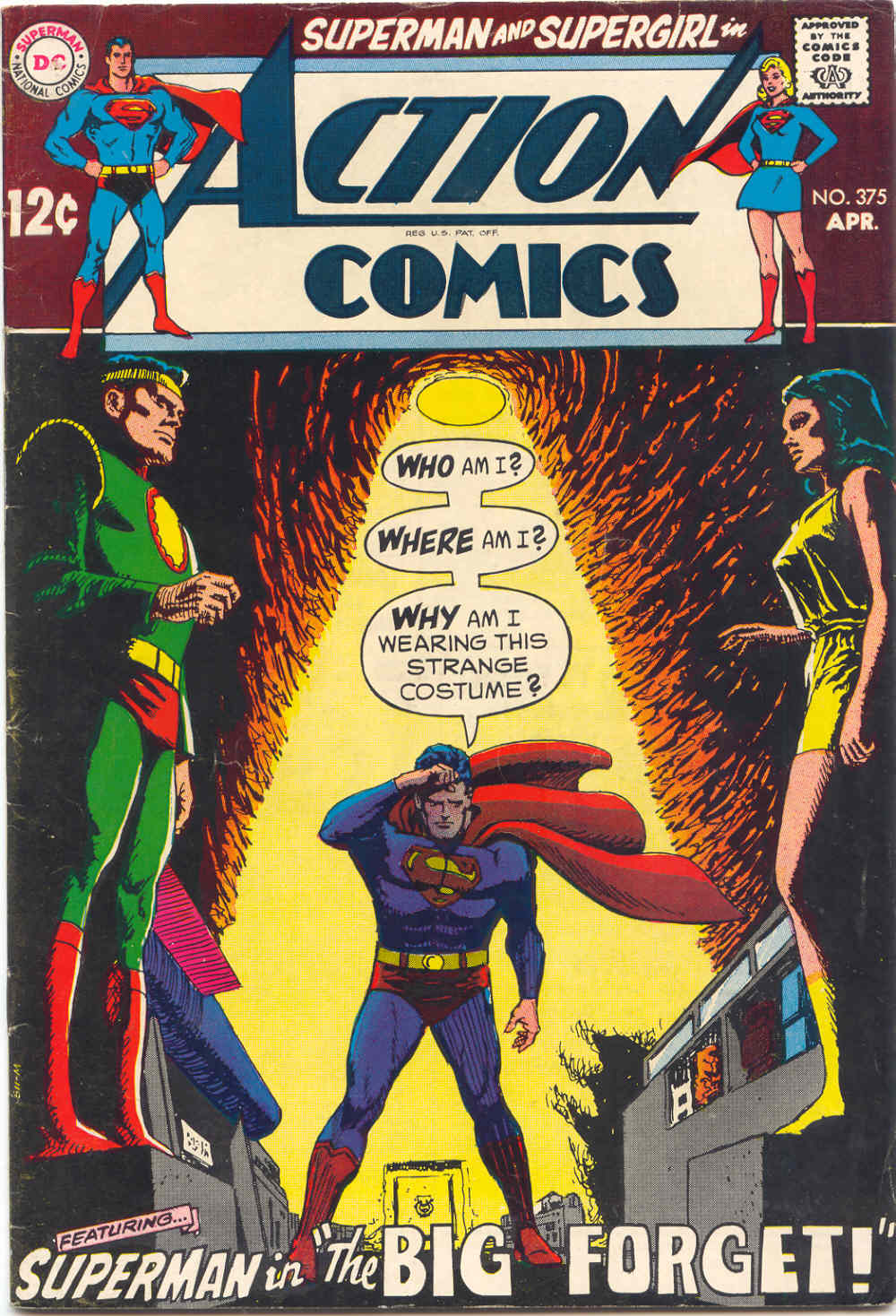 Read online Action Comics (1938) comic -  Issue #375 - 1