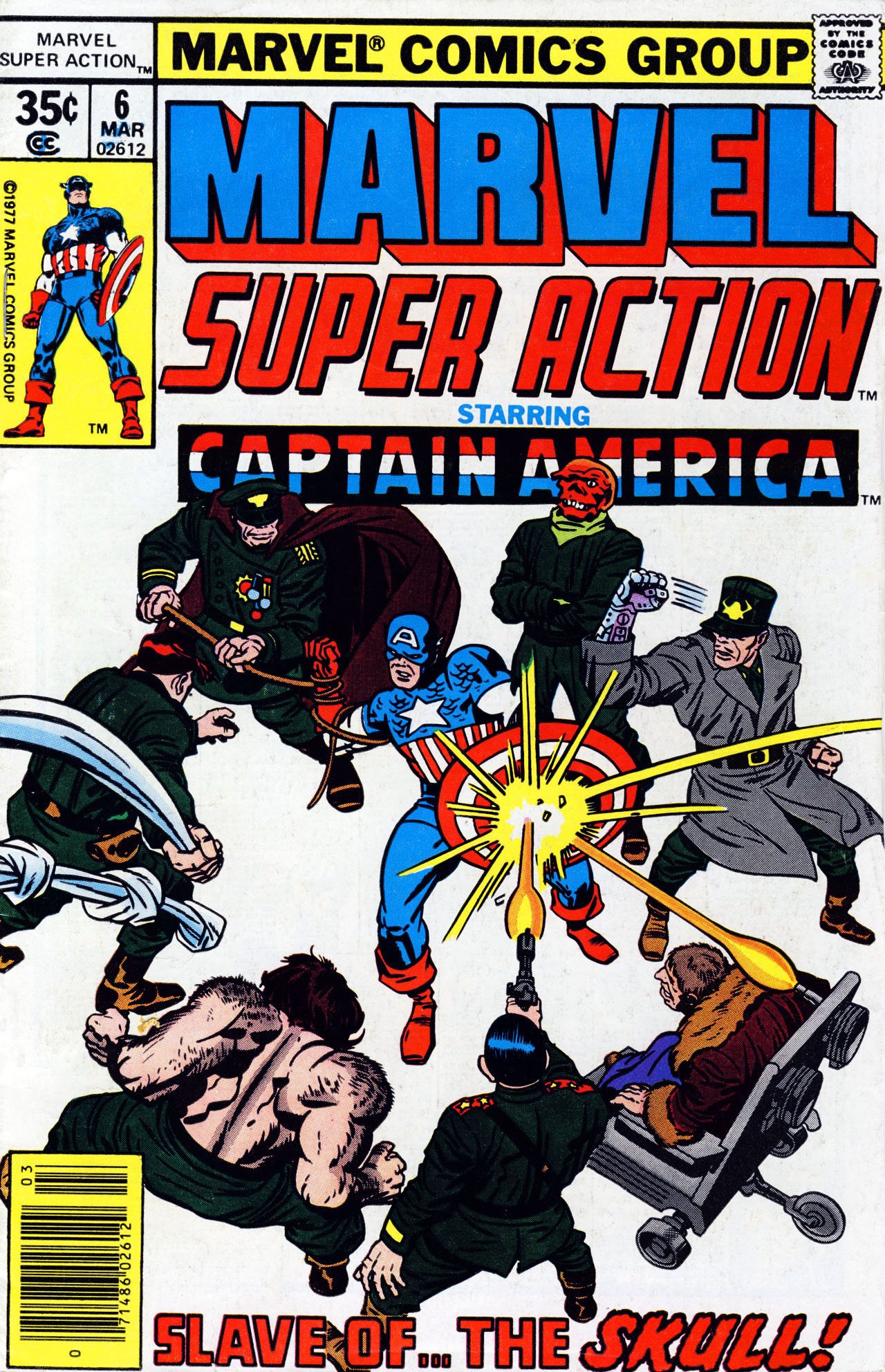 Marvel Super Action (1977) issue 6 - Page 1
