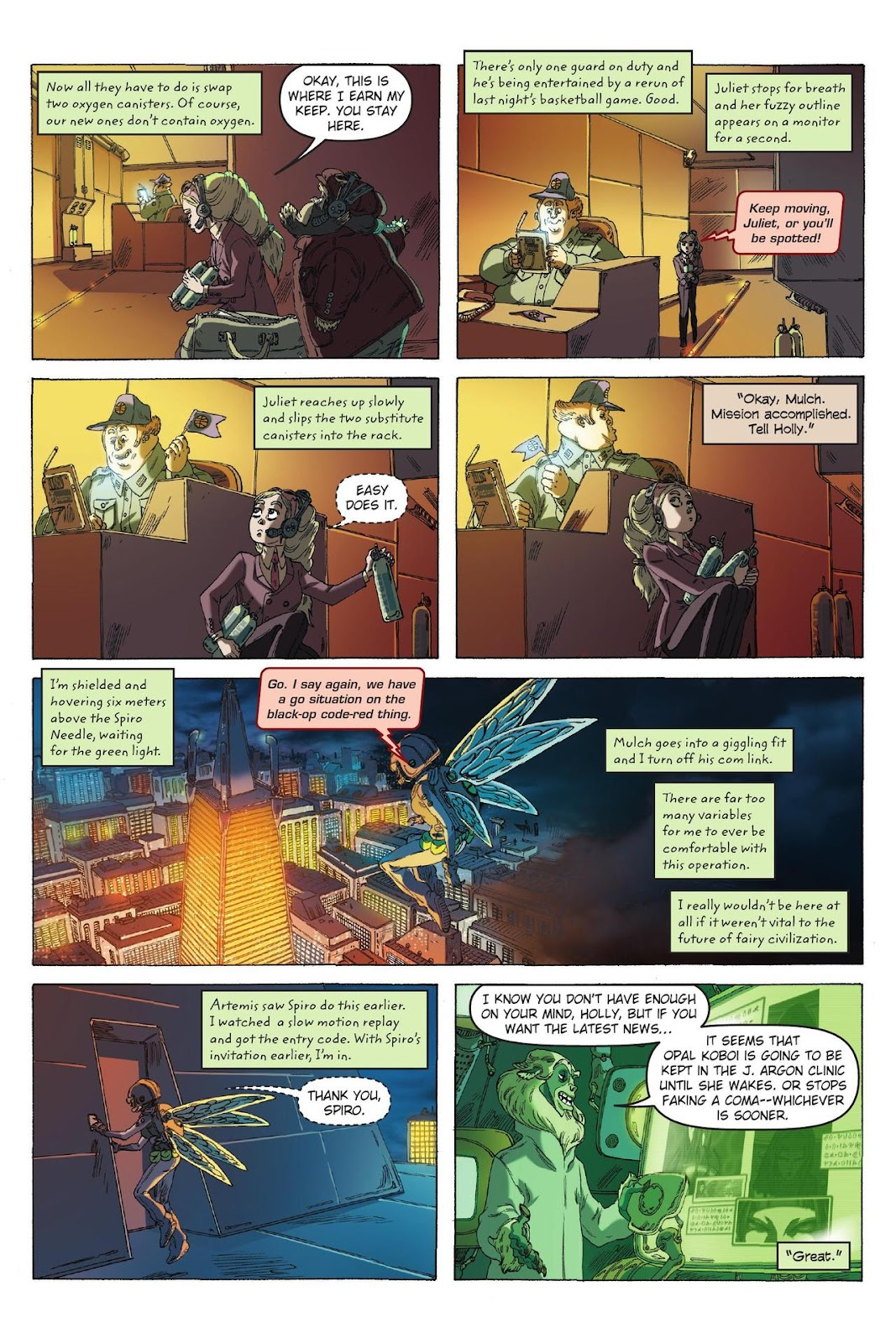 Artemis Fowl: The Eternity Code issue TPB - Page 86