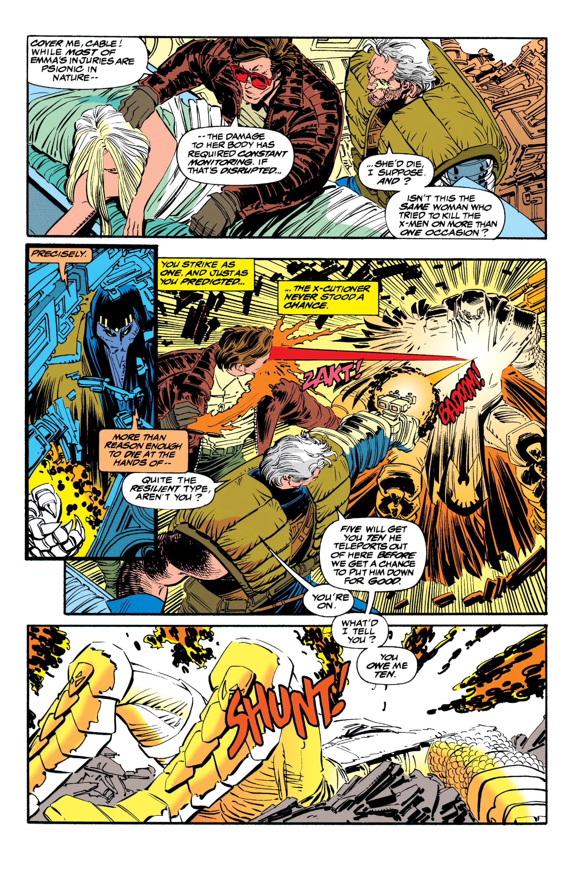 Read online Uncanny X-Men (1963) comic -  Issue #310 - 17