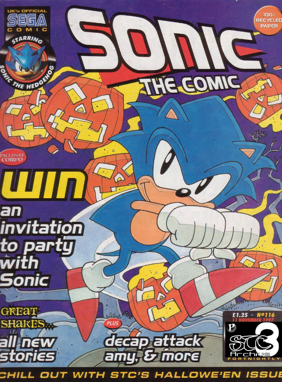 Read online Sonic the Comic comic -  Issue #116 - 1