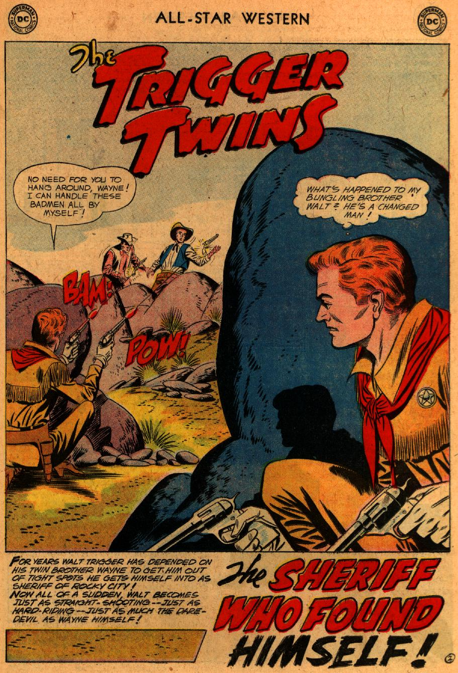 Read online All-Star Western (1951) comic -  Issue #107 - 26