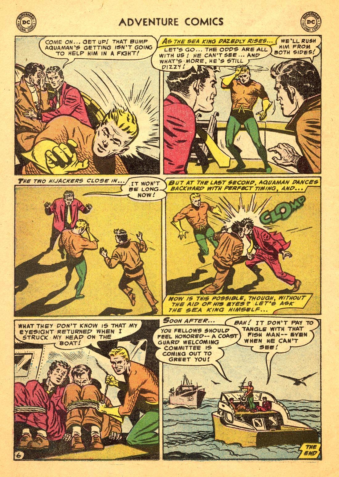 Read online Adventure Comics (1938) comic -  Issue #217 - 22