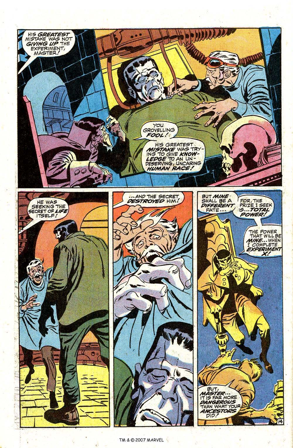 Read online Silver Surfer (1968) comic -  Issue #7 - 18