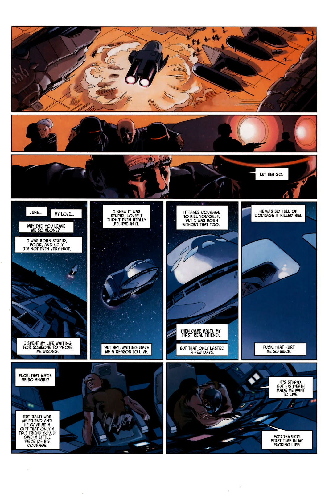 Read online Universal War One: Revelations comic -  Issue #2 - 33