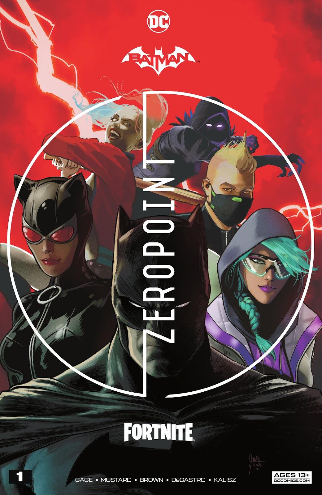 Batman/Fortnite: Zero Point issue 1 - Page 1
