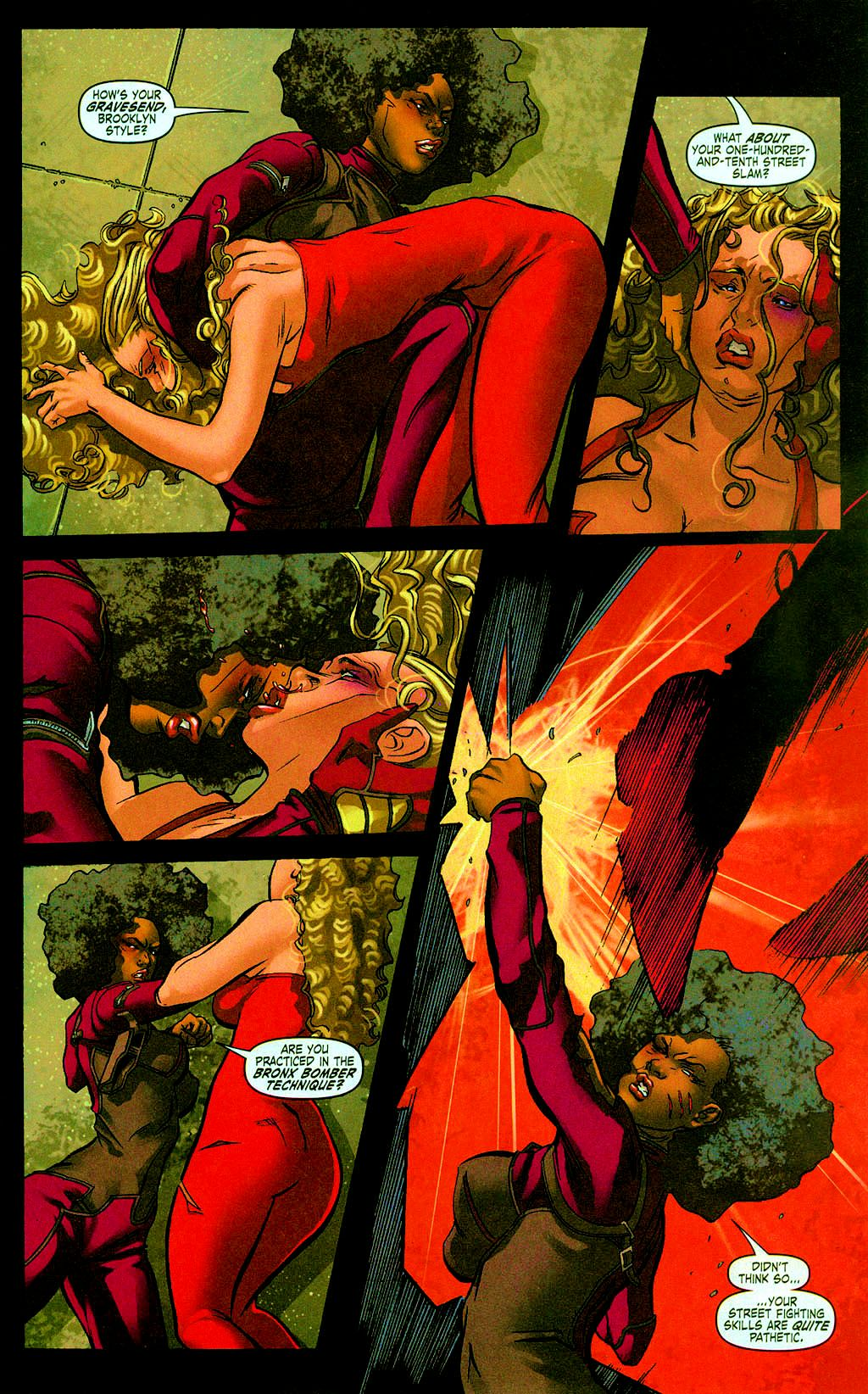 Read online Daughters of the Dragon comic -  Issue #6 - 16
