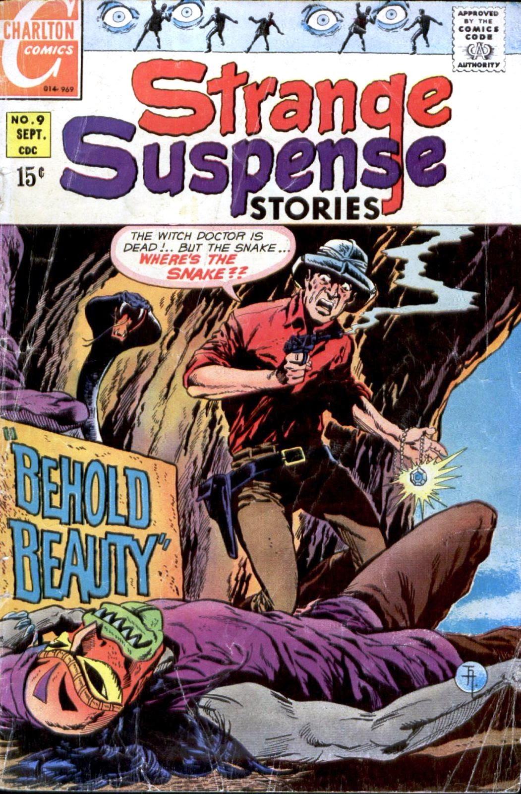 Strange Suspense Stories (1967) issue 9 - Page 1