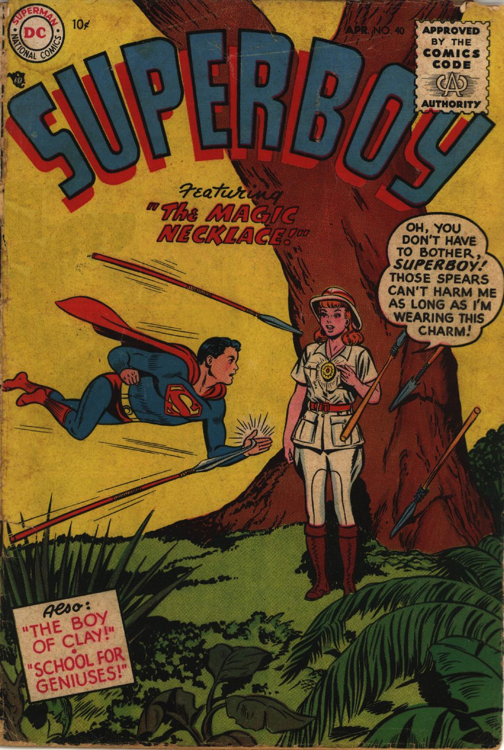 Superboy (1949) issue 40 - Page 1