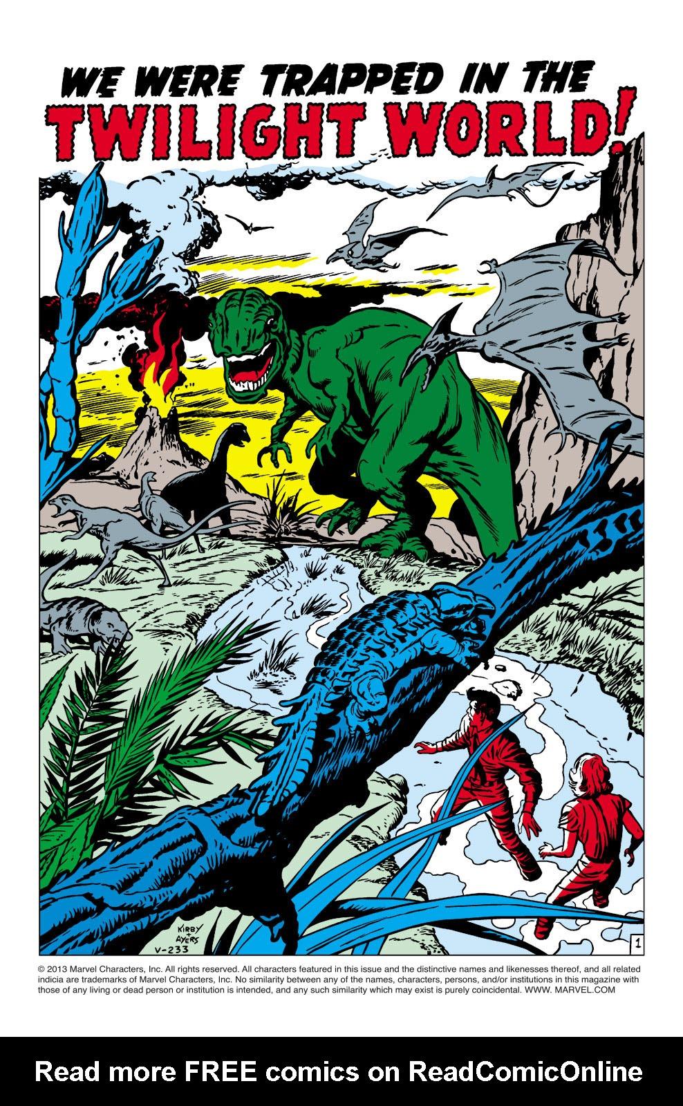 Read online Amazing Adventures (1961) comic -  Issue #3 - 2