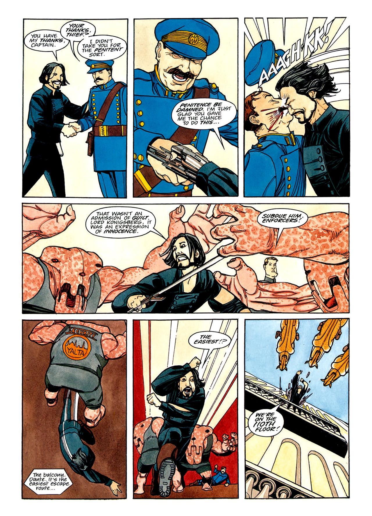 Read online Nikolai Dante comic -  Issue # TPB 1 - 114