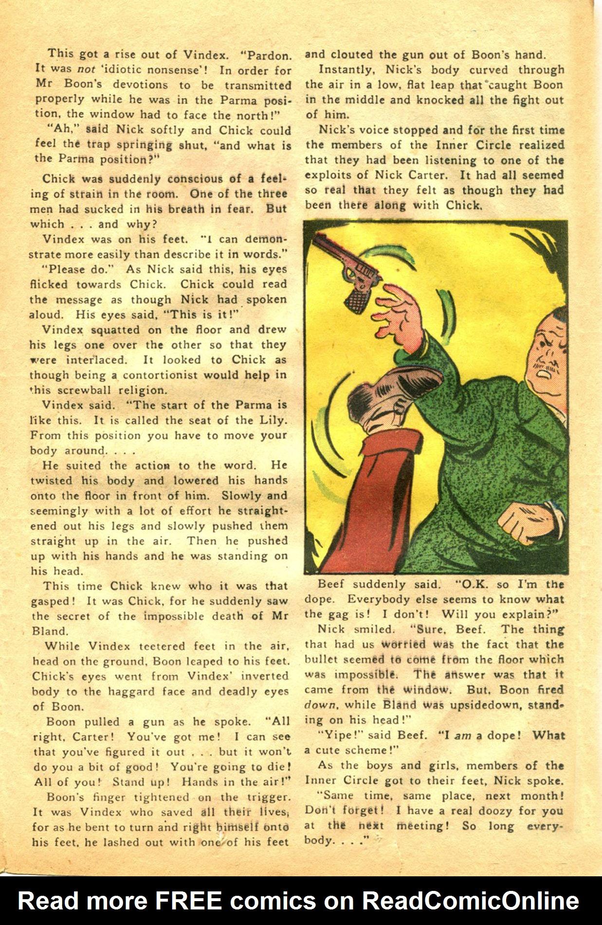 Read online Shadow Comics comic -  Issue #48 - 31