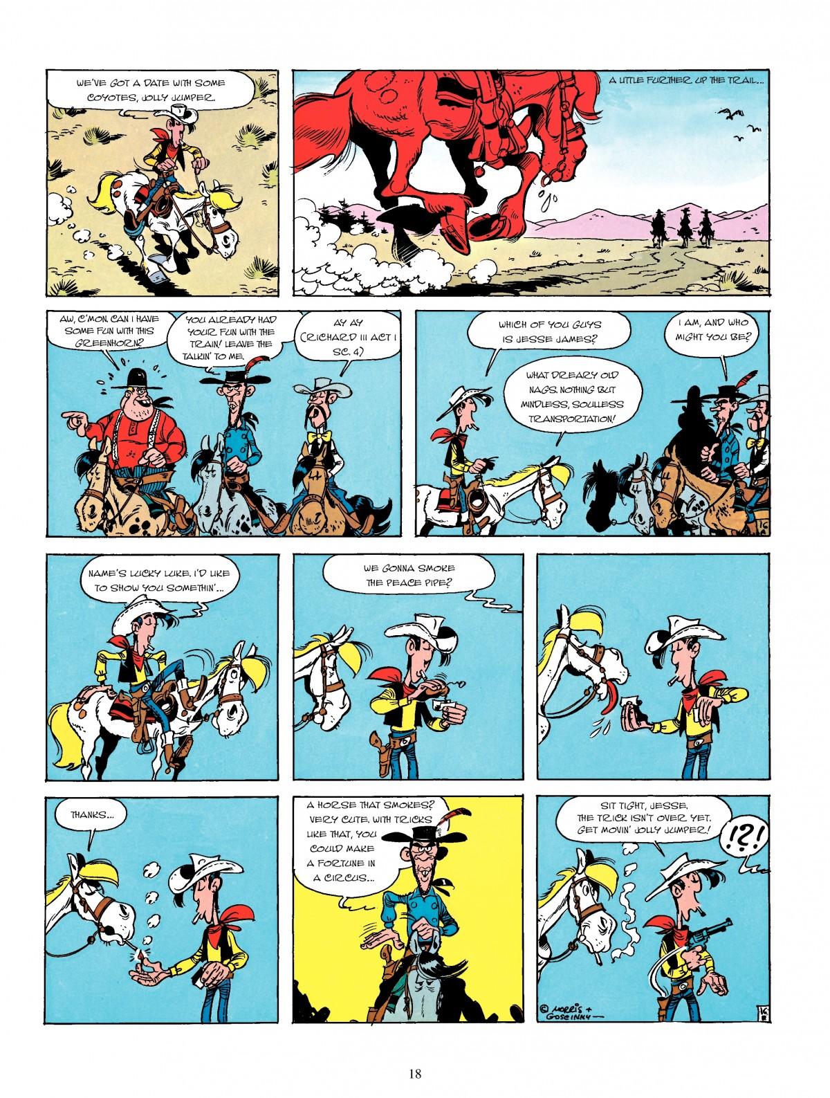 Read online A Lucky Luke Adventure comic -  Issue #4 - 20