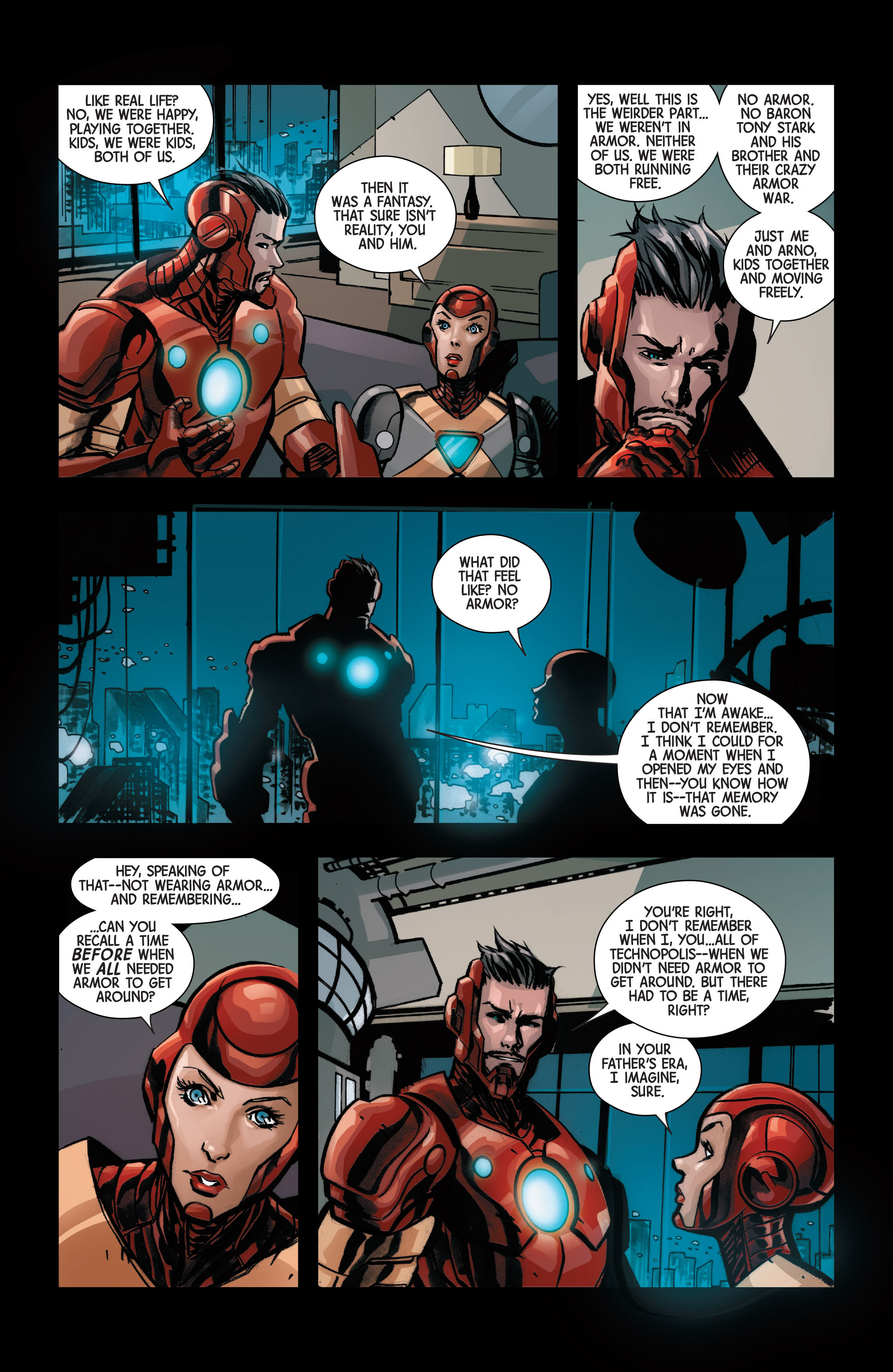 Read online Armor Wars comic -  Issue #1 - 12