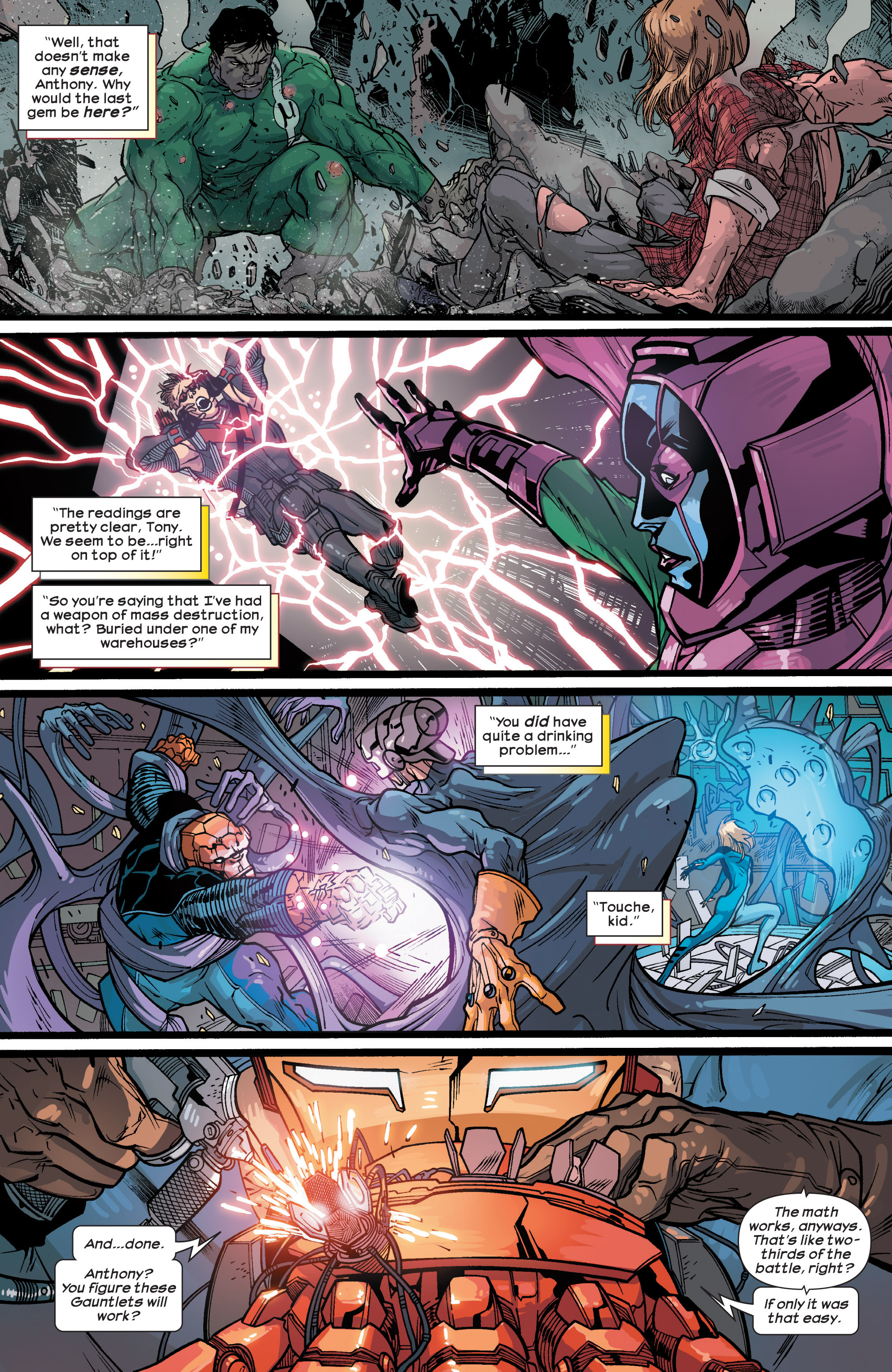 Read online Ultimate Comics Ultimates comic -  Issue #26 - 18
