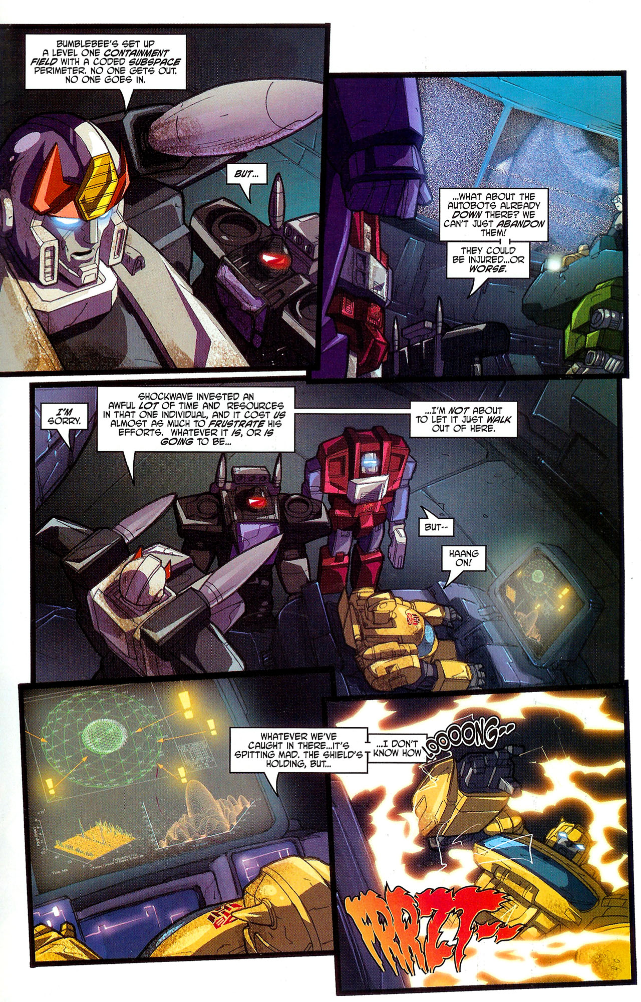 """Read online Transformers War Within: """"The Dark Ages"""" comic -  Issue #5 - 19"""