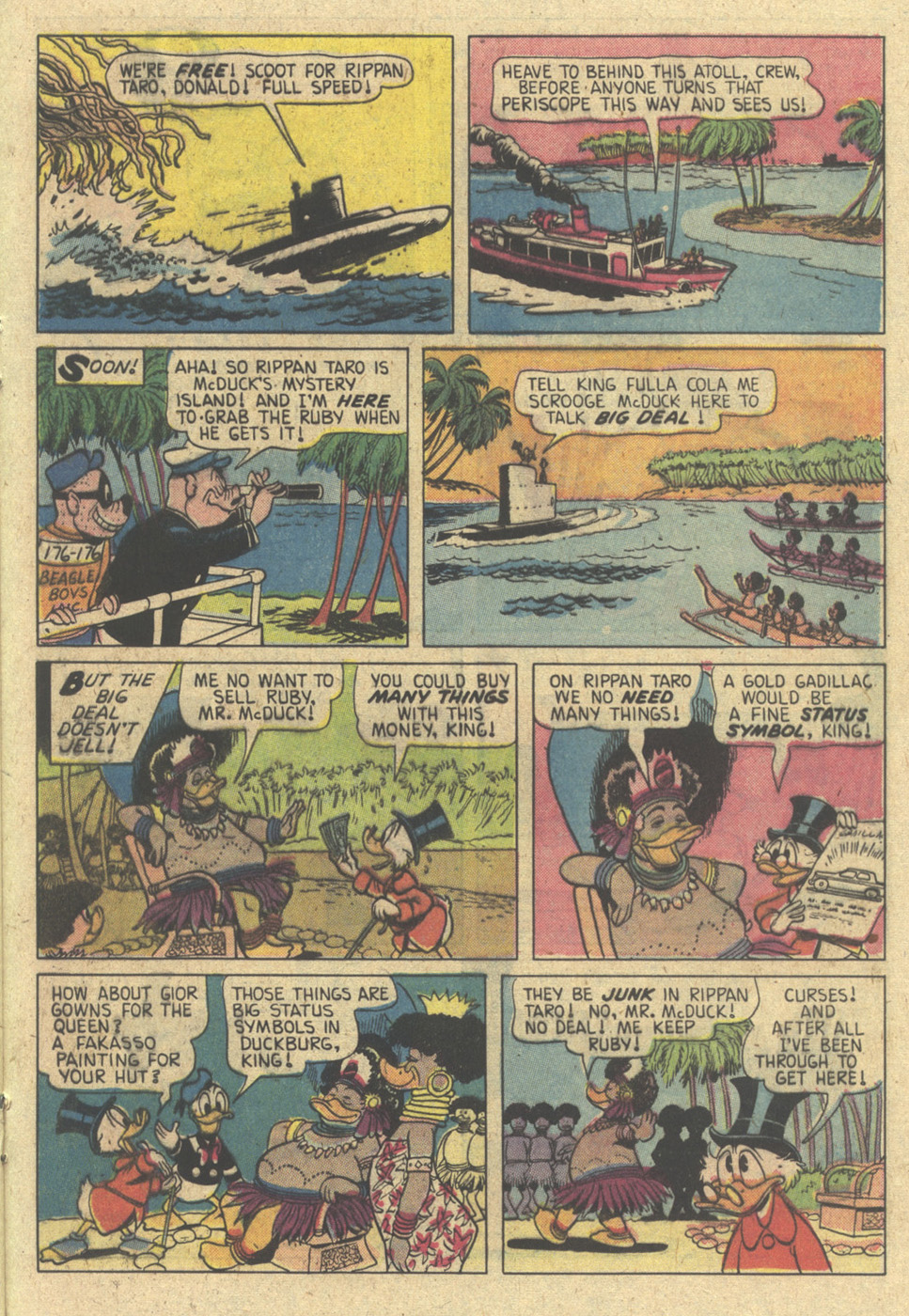 Read online Uncle Scrooge (1953) comic -  Issue #174 - 21