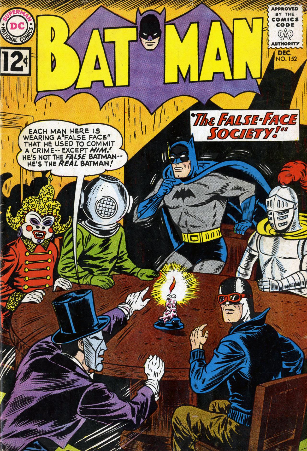 Batman (1940) 152 Page 1