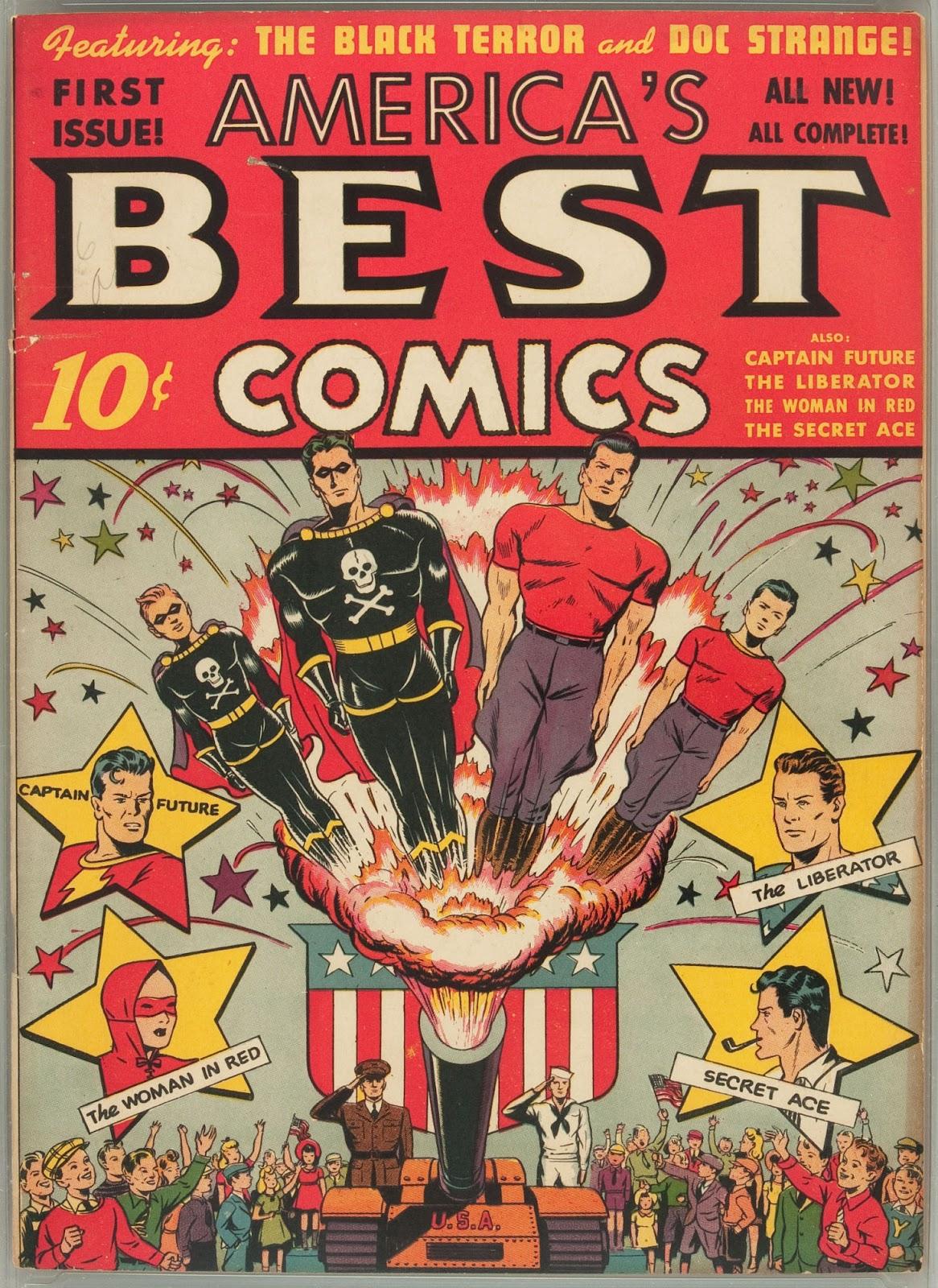 Americas Best Comics 1 Page 1