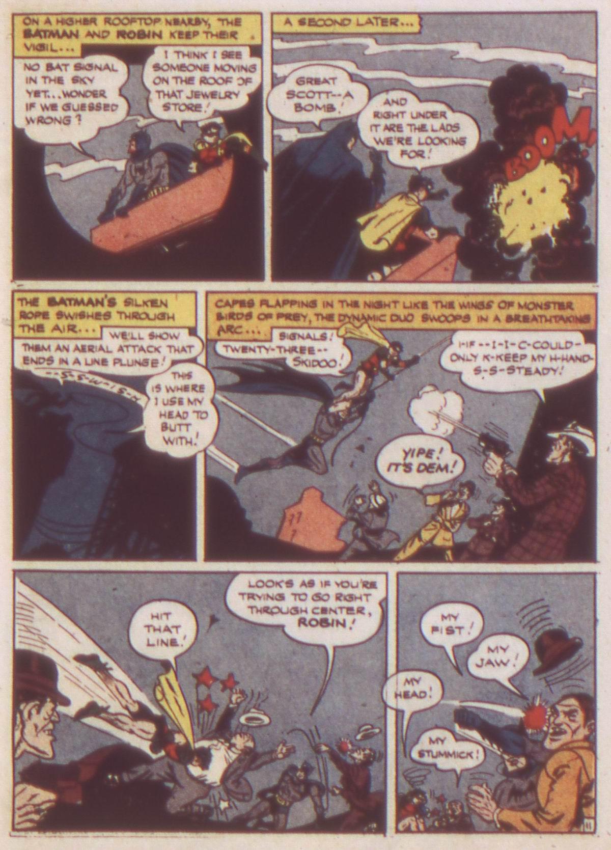 Read online Detective Comics (1937) comic -  Issue #82 - 13
