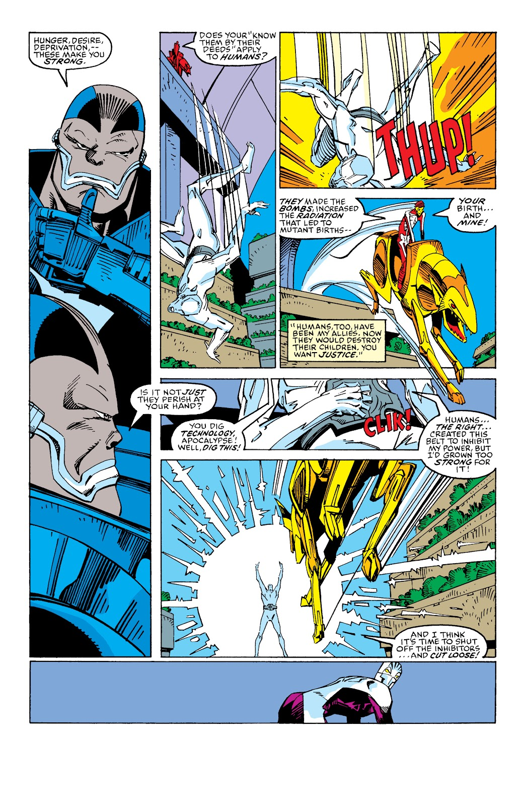 Read online X-Men Milestones: Fall of the Mutants comic -  Issue # TPB (Part 2) - 92