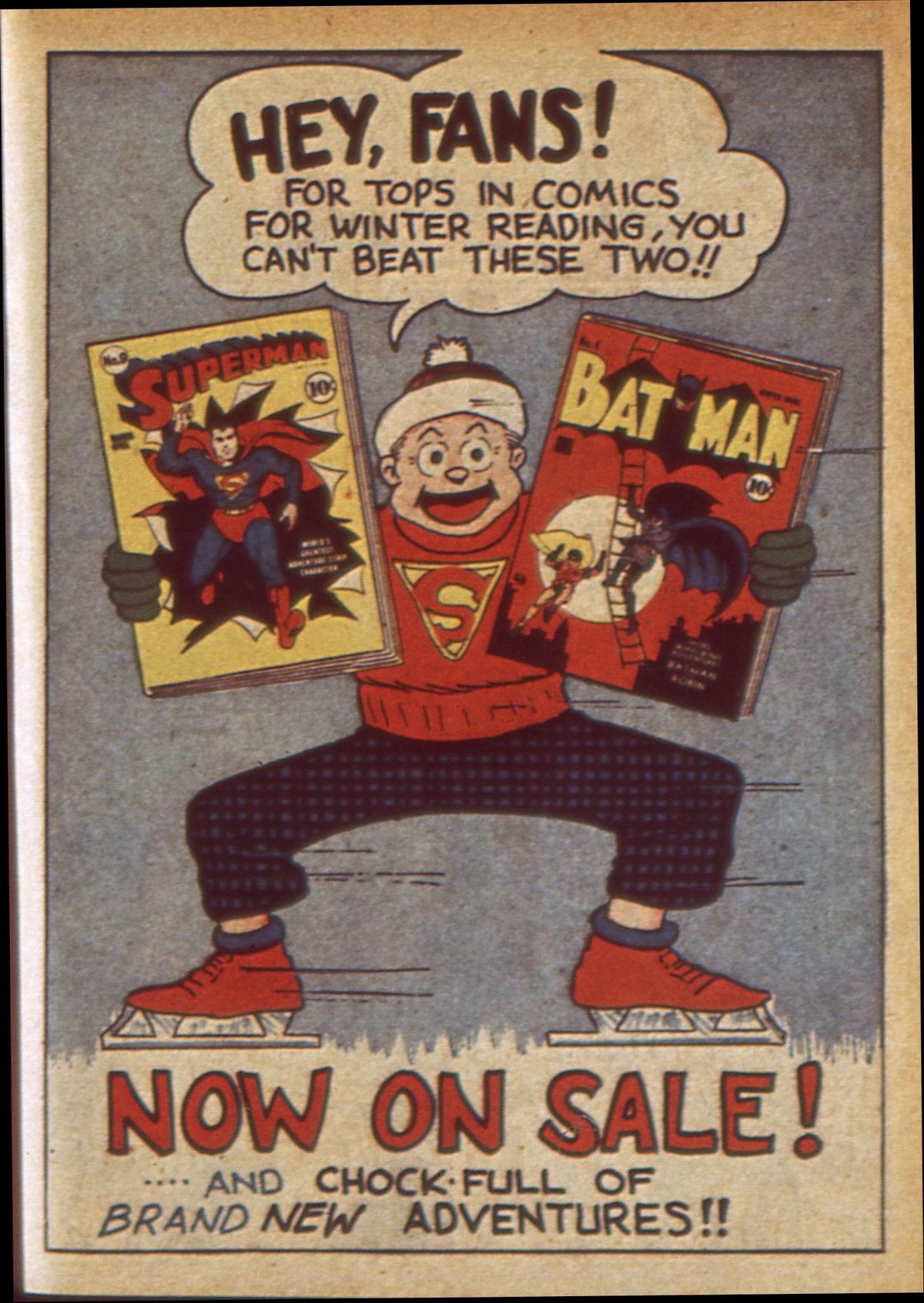 Read online Detective Comics (1937) comic -  Issue #49 - 57